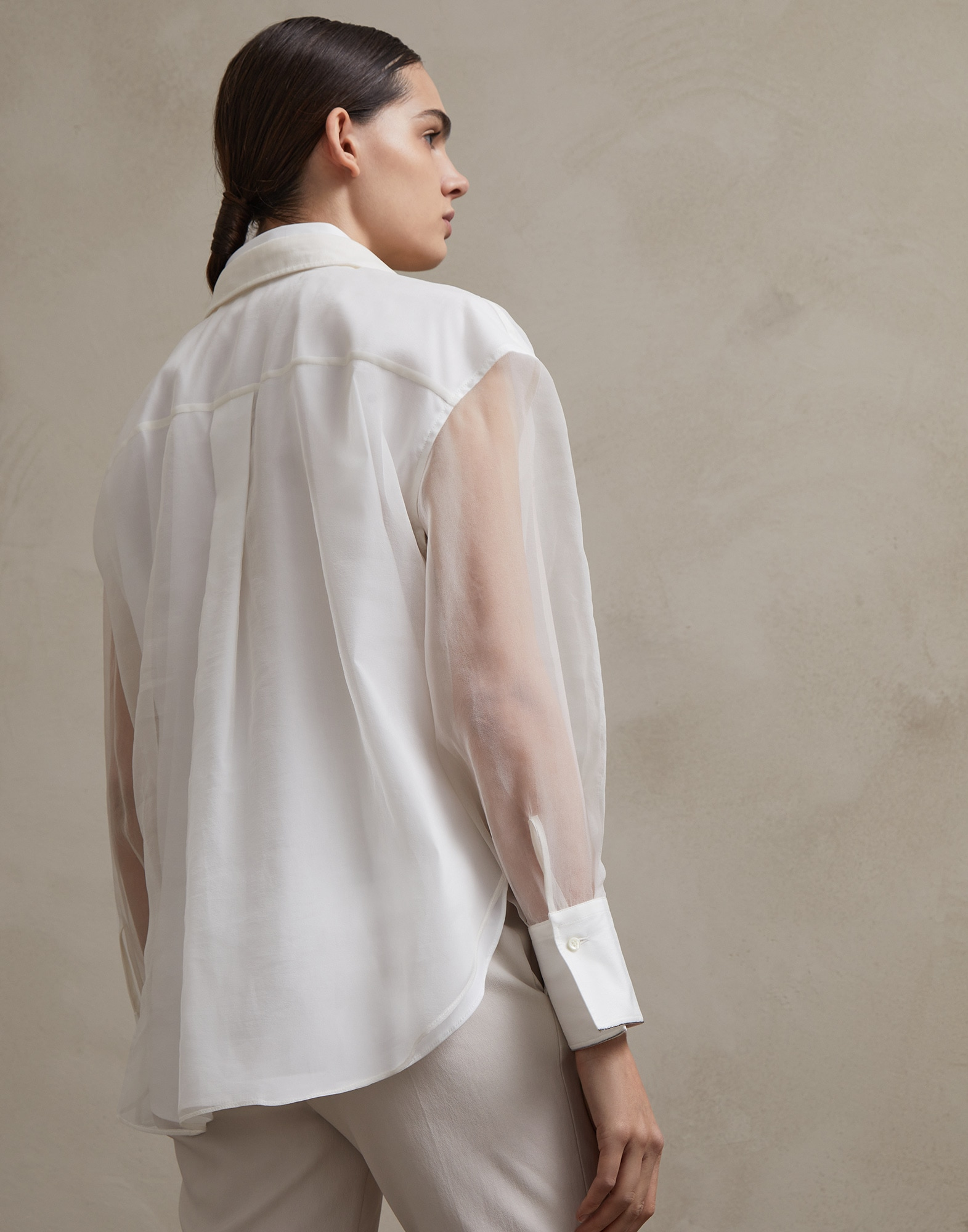 Silk Shirt - Back