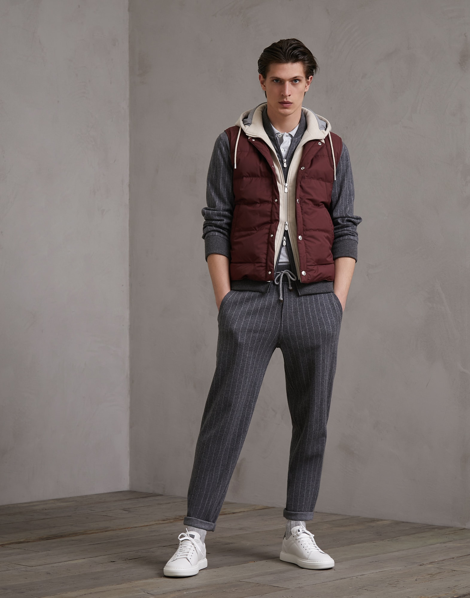 Sweatshirt Lead Man 3 - Brunello Cucinelli
