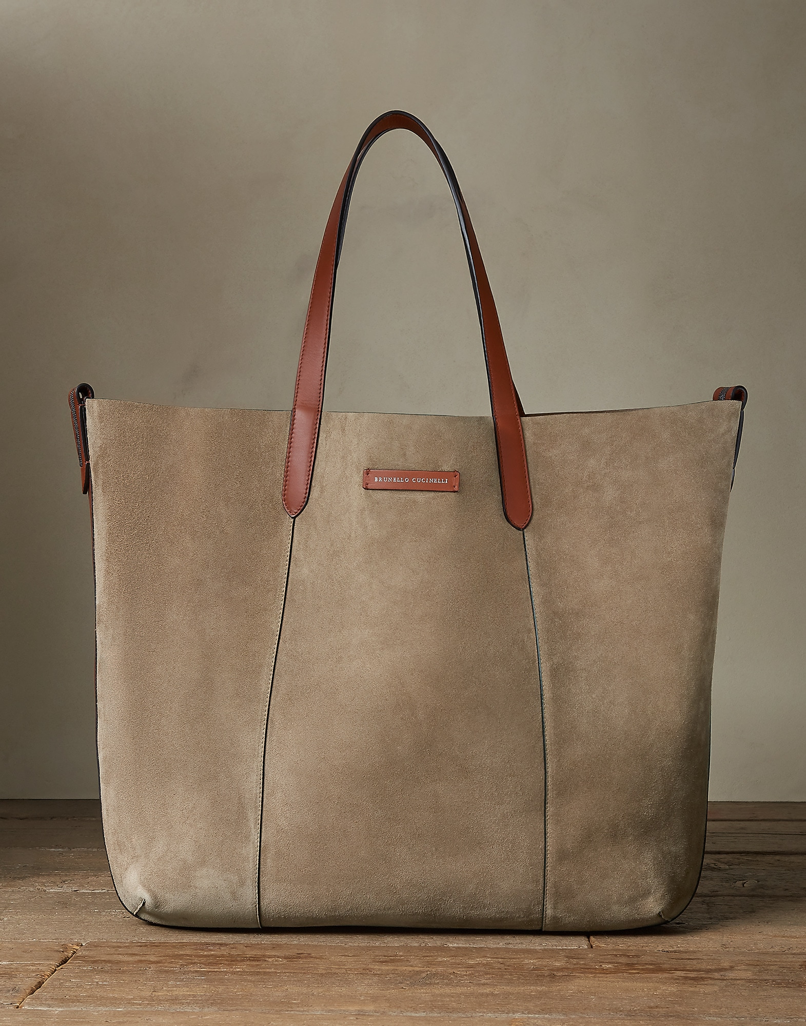 Shopper Haselnuss Damen 0 - Brunello Cucinelli