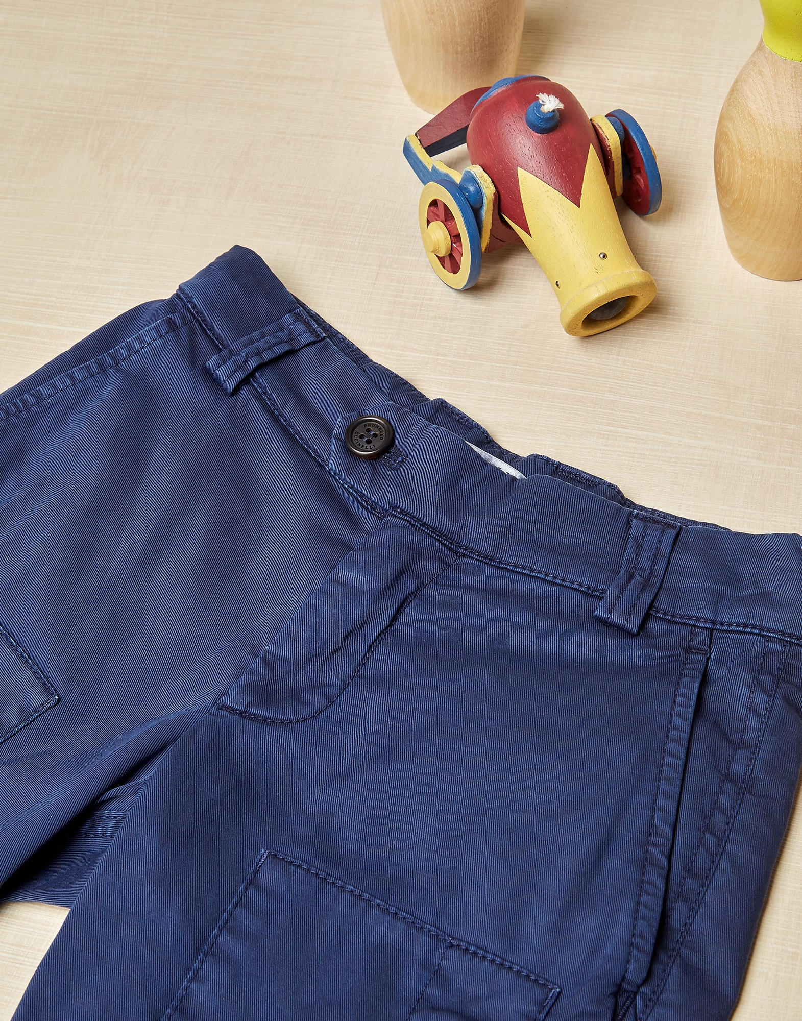 Trousers Blue Boy 0 - Brunello Cucinelli