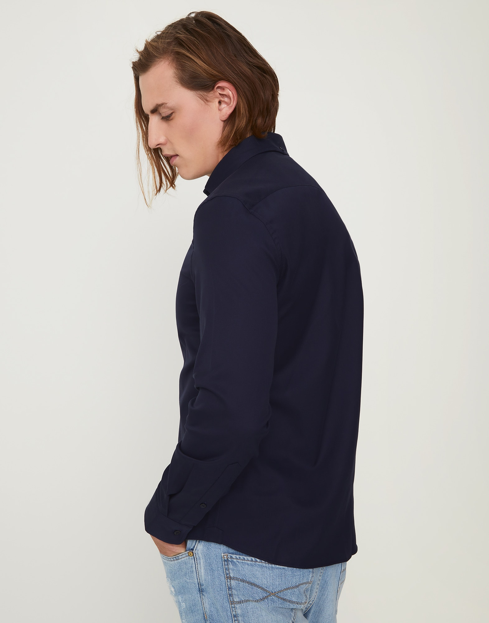 French Collar Shirt - Back