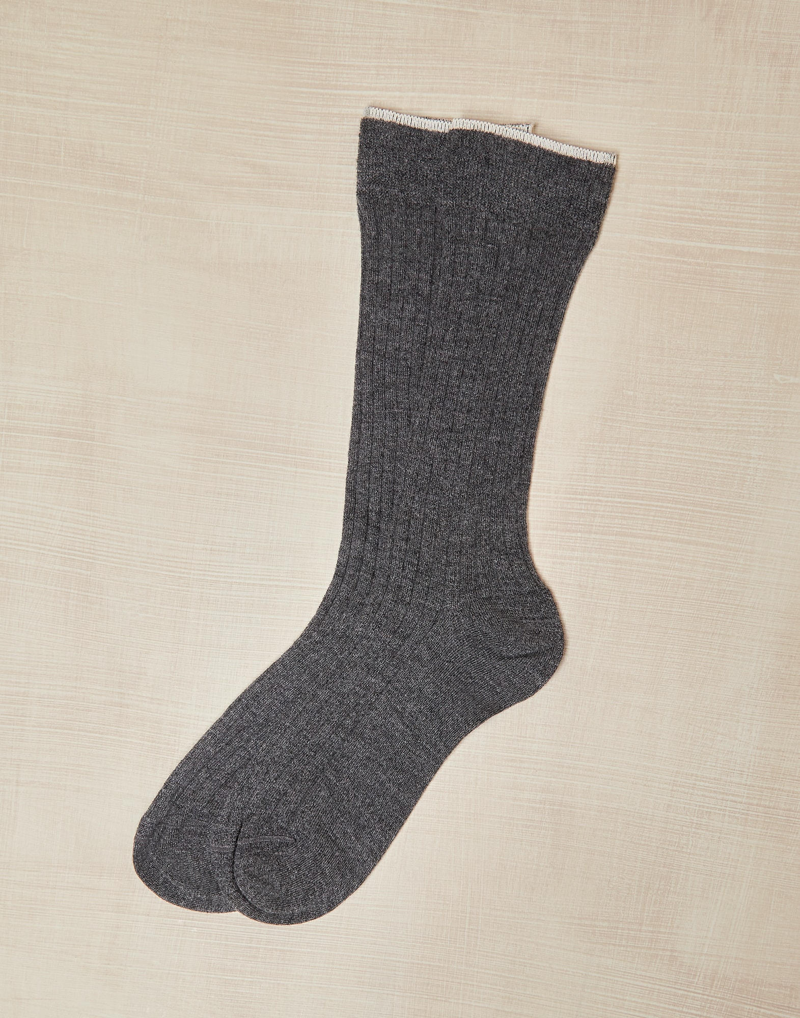 Socks Dark Grey Boy 0 - Brunello Cucinelli