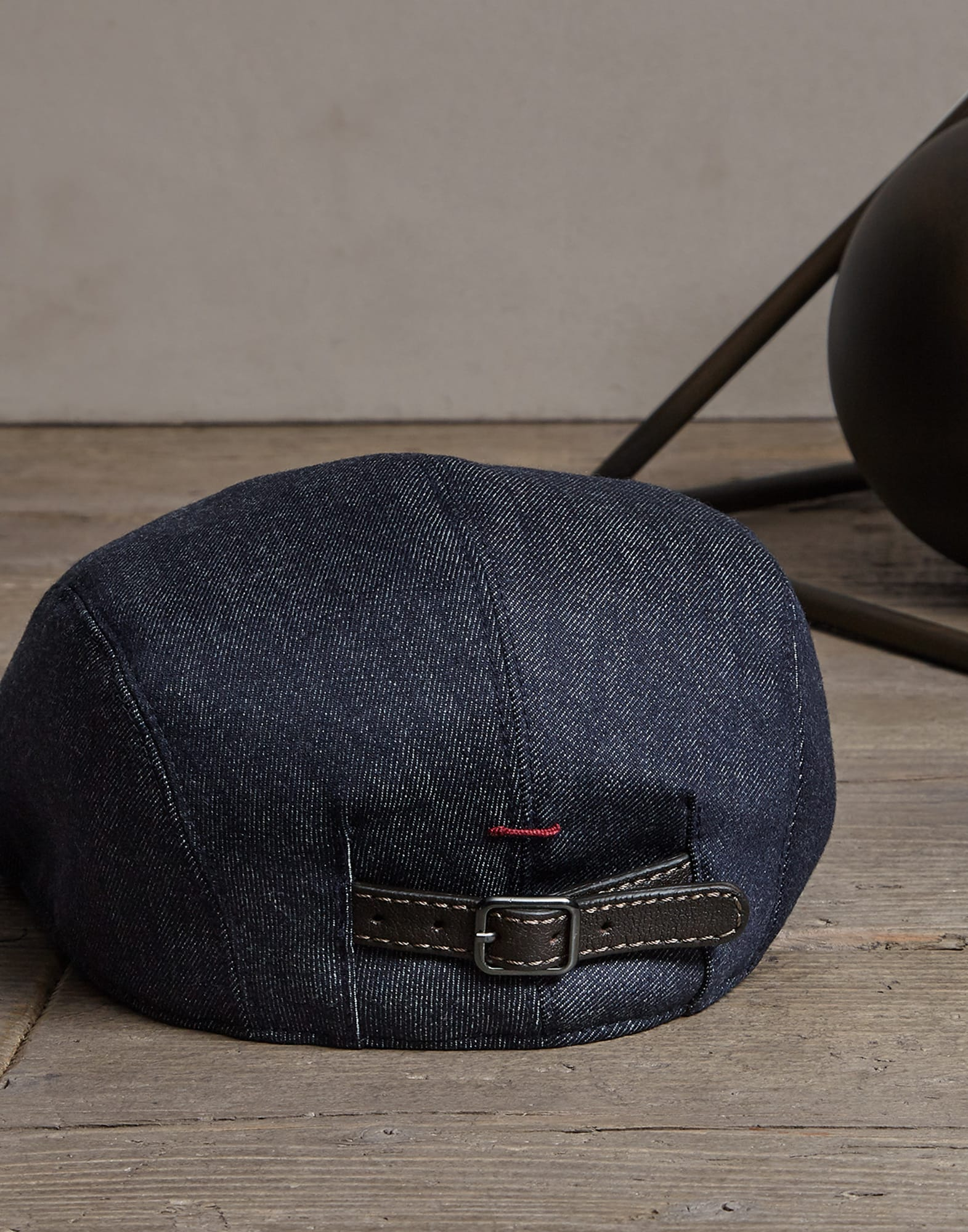 Hat Denim Man 1 - Brunello Cucinelli