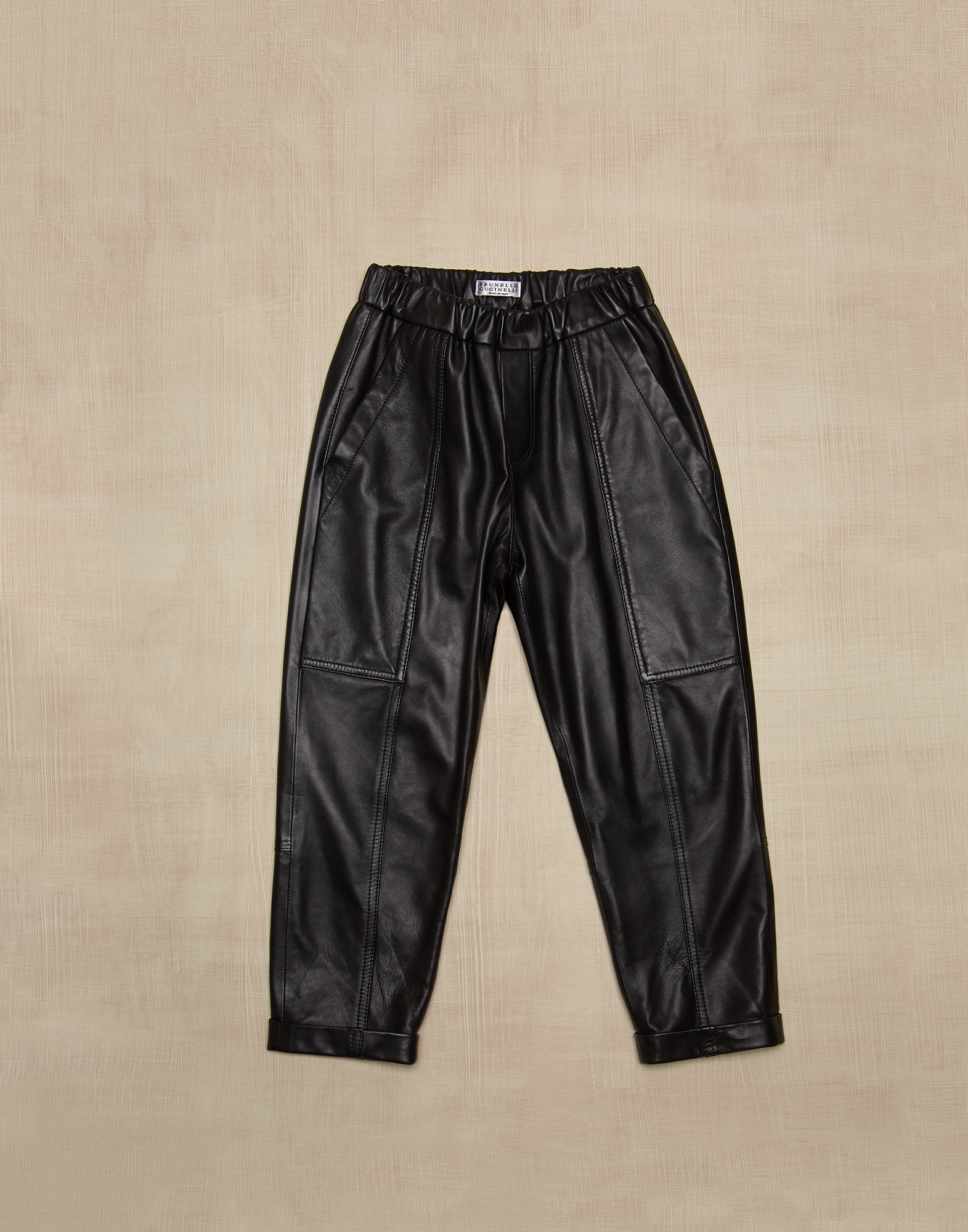 Trousers Black Girl 1 - Brunello Cucinelli