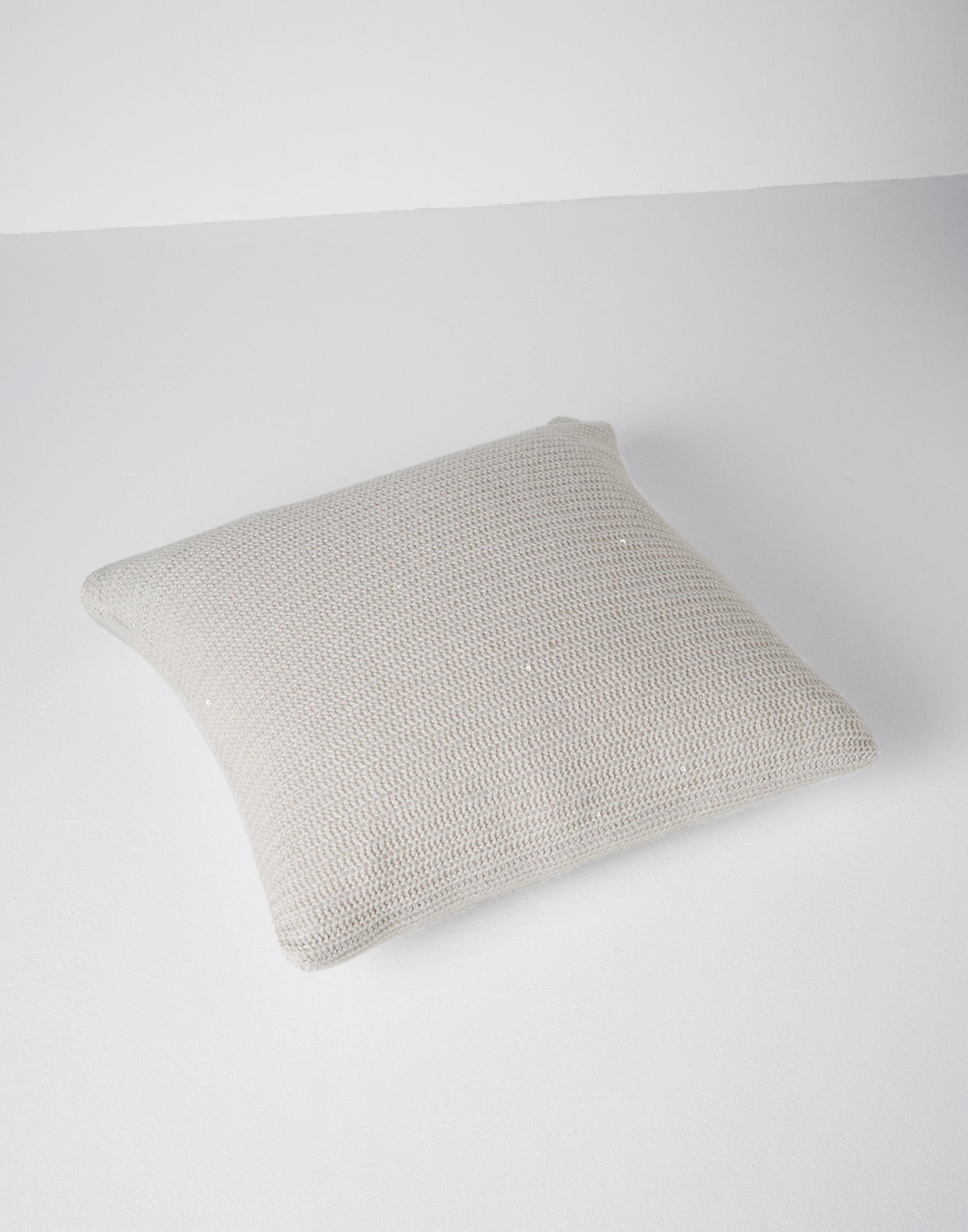 Knit Cushions Rice Lifestyle 0 - Brunello Cucinelli