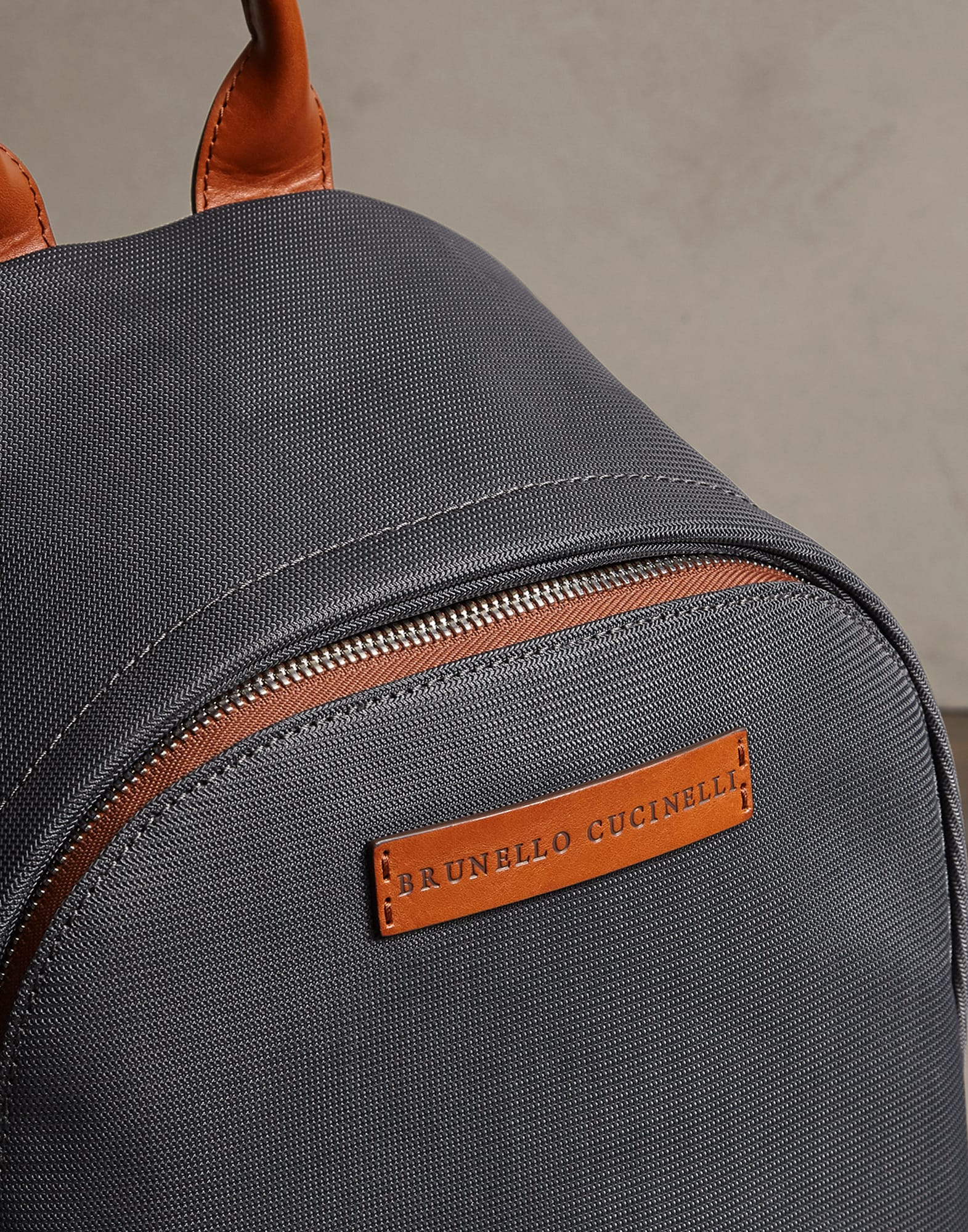 Backpack Lead Man 3 - Brunello Cucinelli
