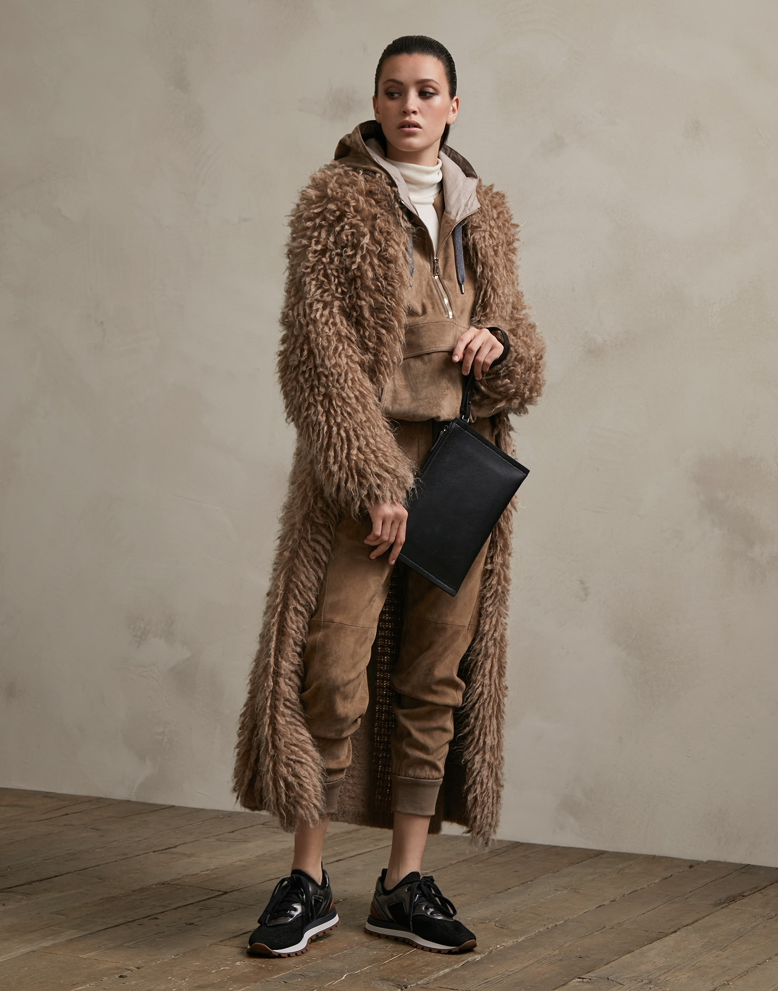 Cardigan Walnut Woman 4 - Brunello Cucinelli