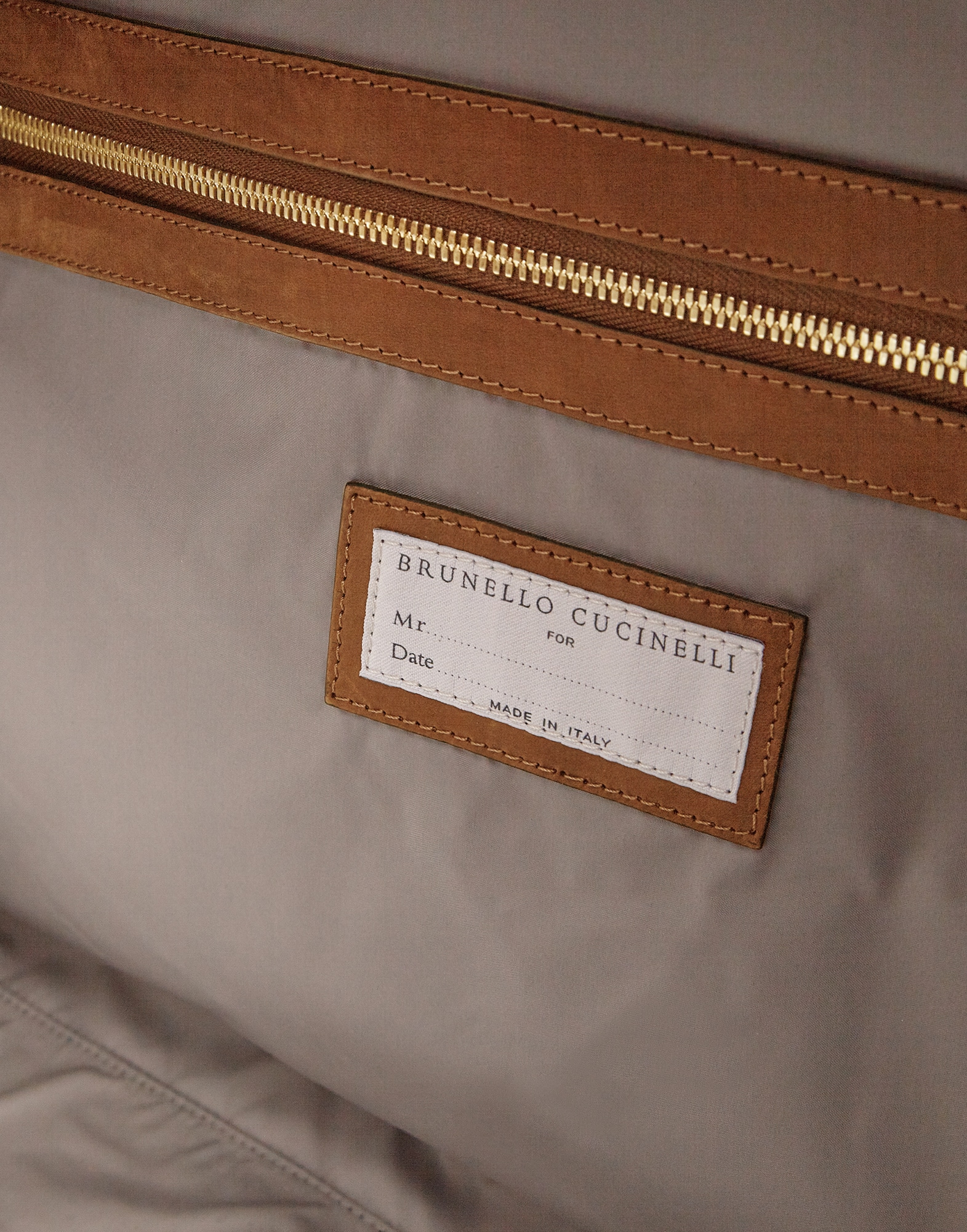 Leisure Bag Bark Man 3 - Brunello Cucinelli