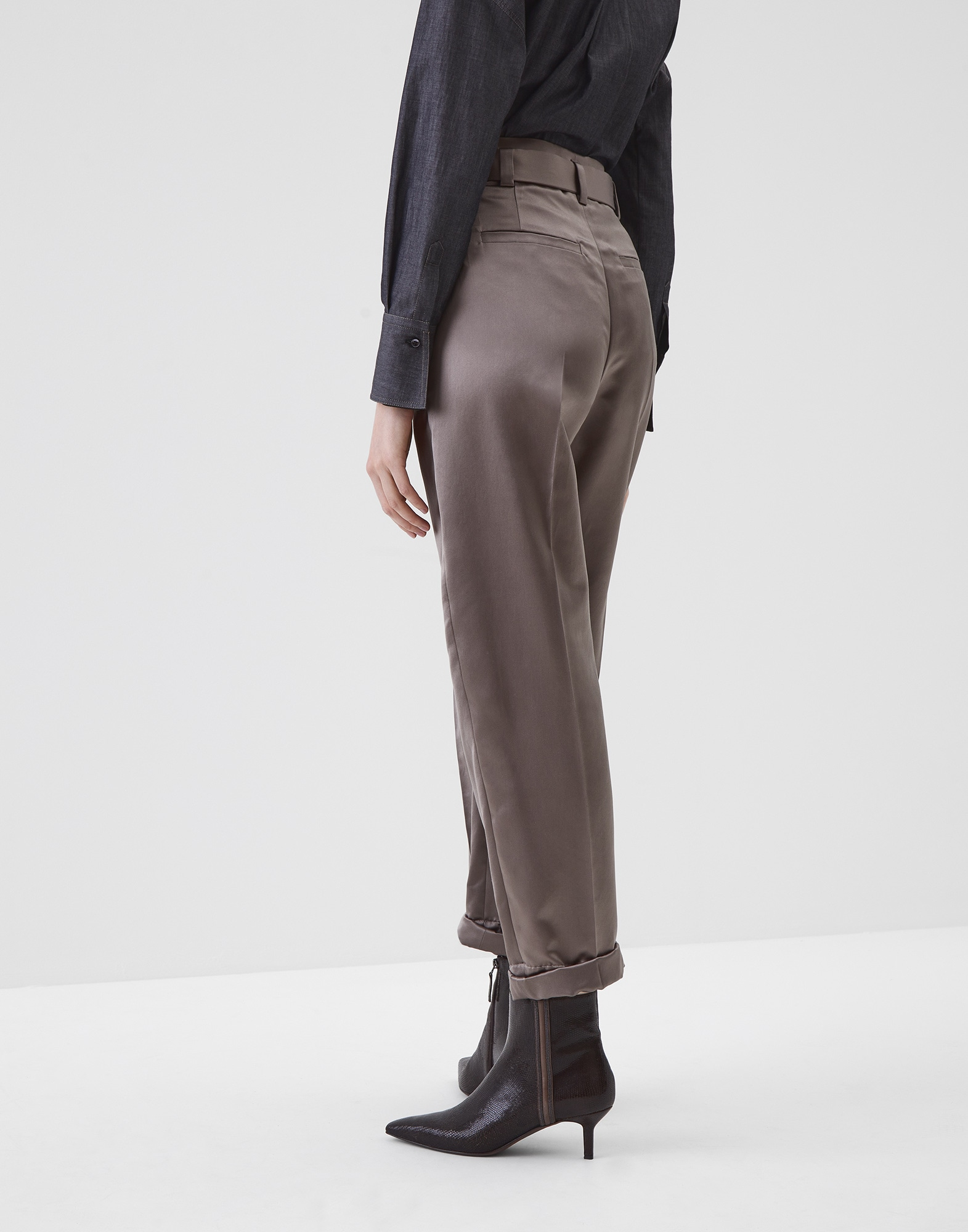 Trousers Mud Woman 1 - Brunello Cucinelli