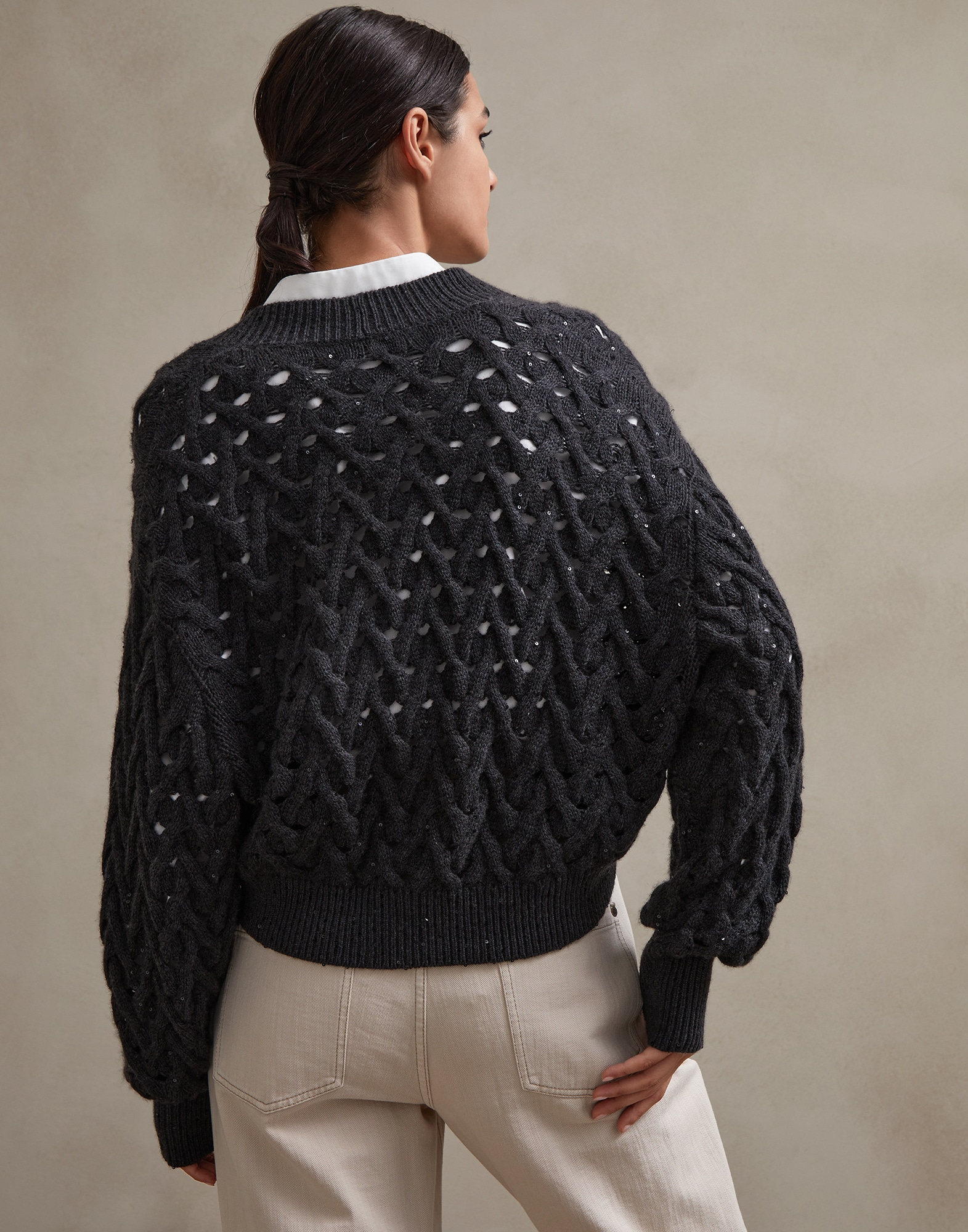 Cardigan - Back view
