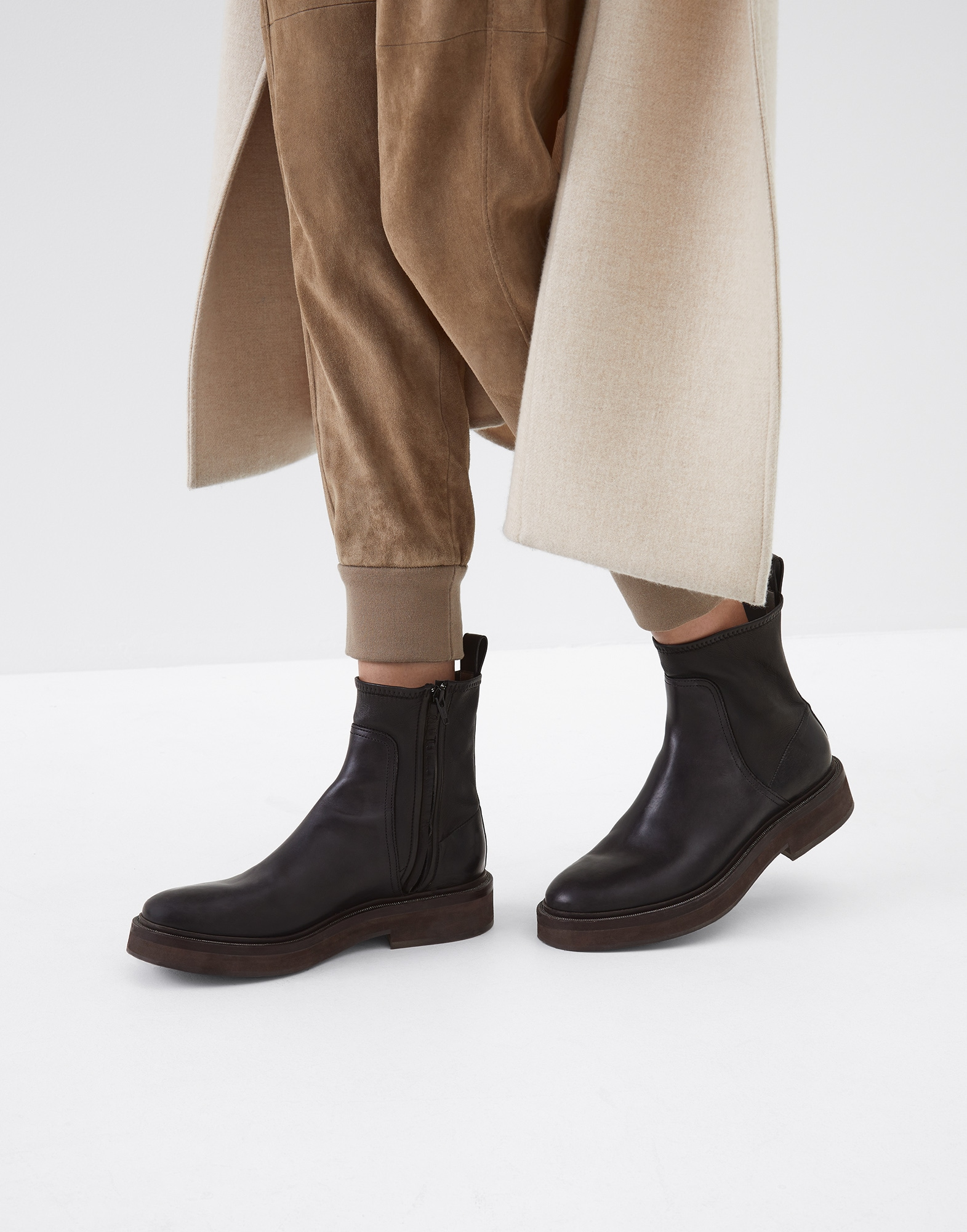 High-Boots Black Woman 4 - Brunello Cucinelli