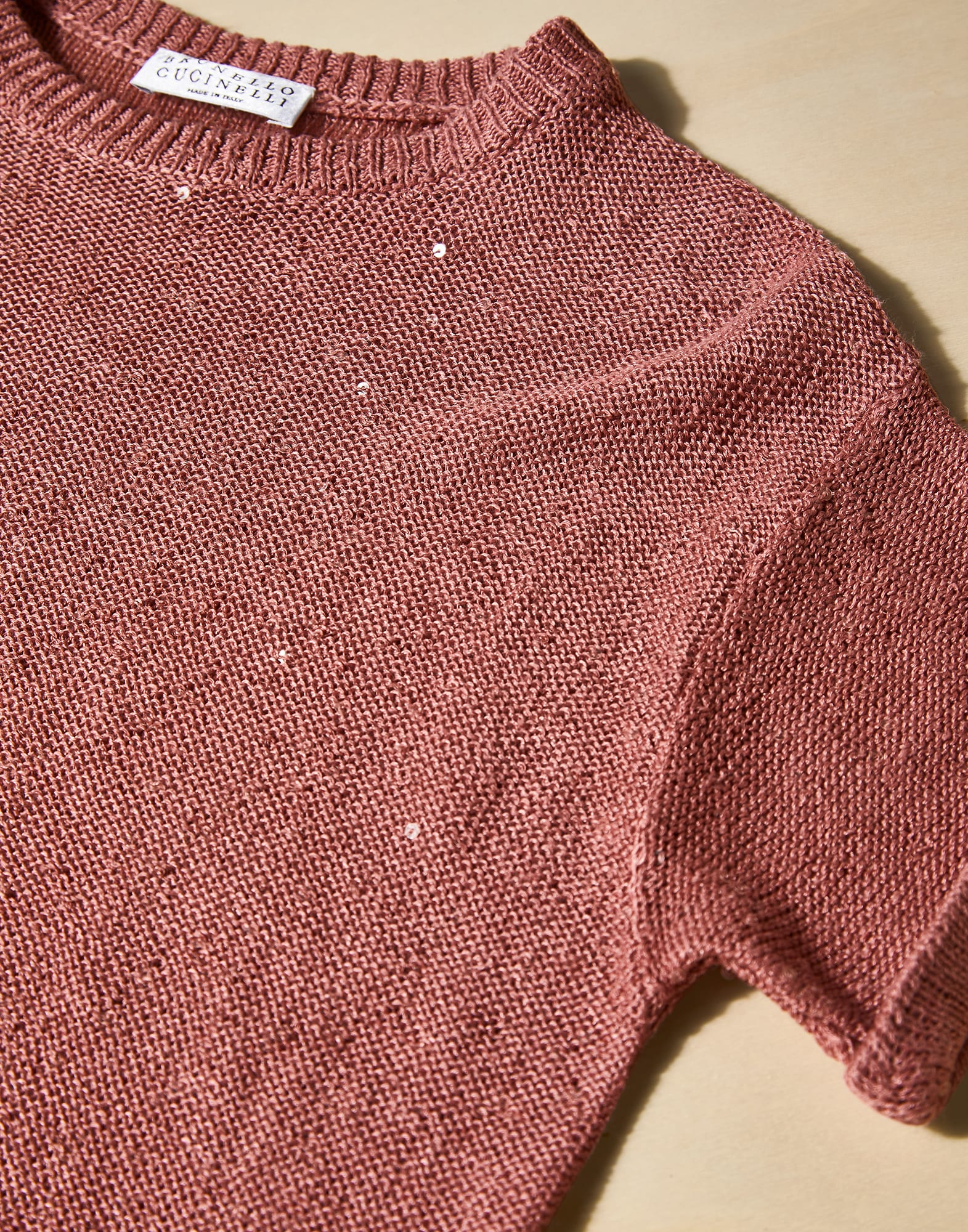 Crewneck Sweater - Detail view