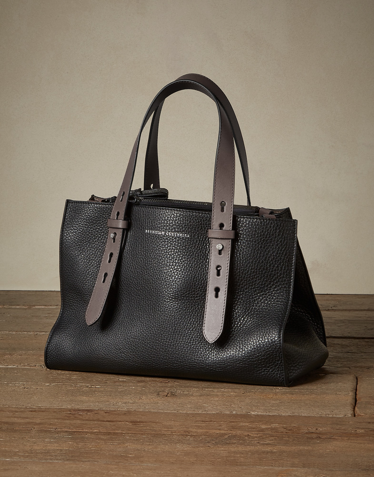 Shopper Bag Black Woman 0 - Brunello Cucinelli