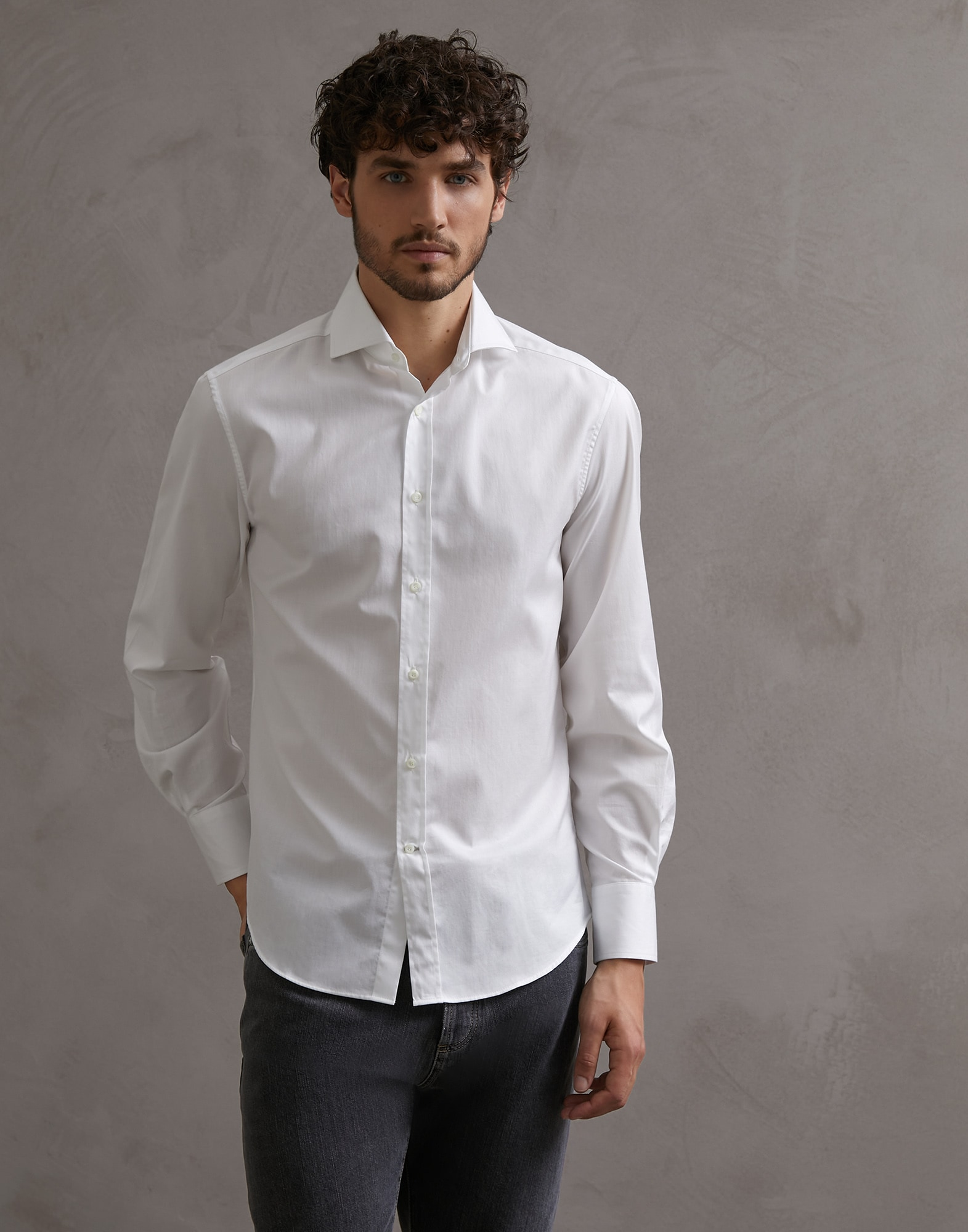 French Collar Shirt - Front view