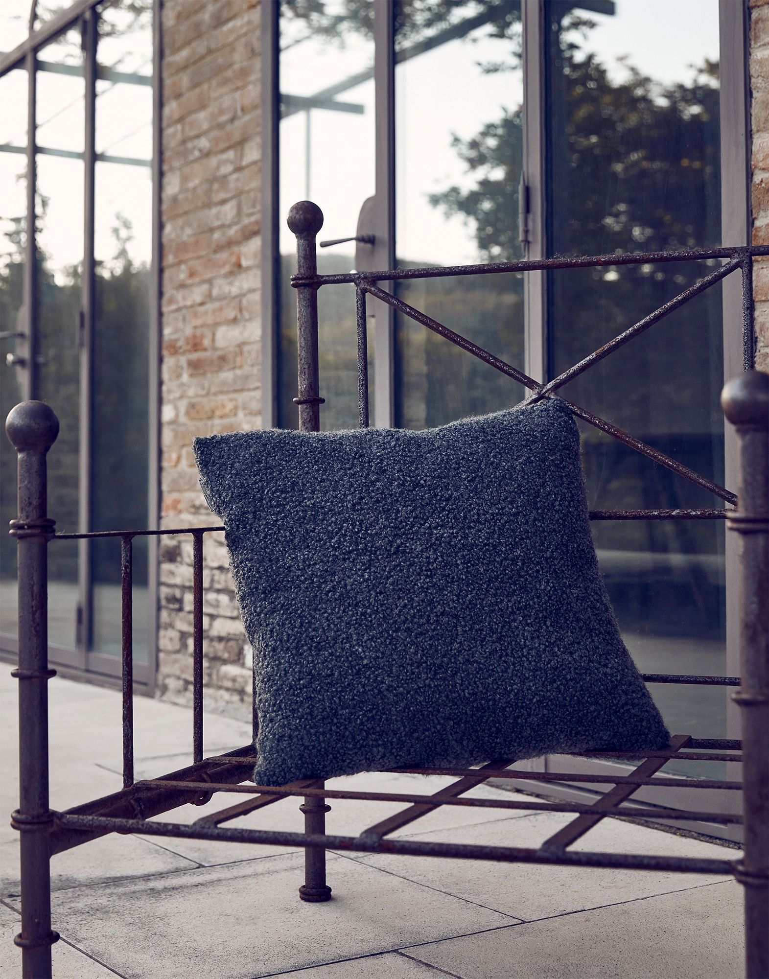 Knit Cushions - Editorial