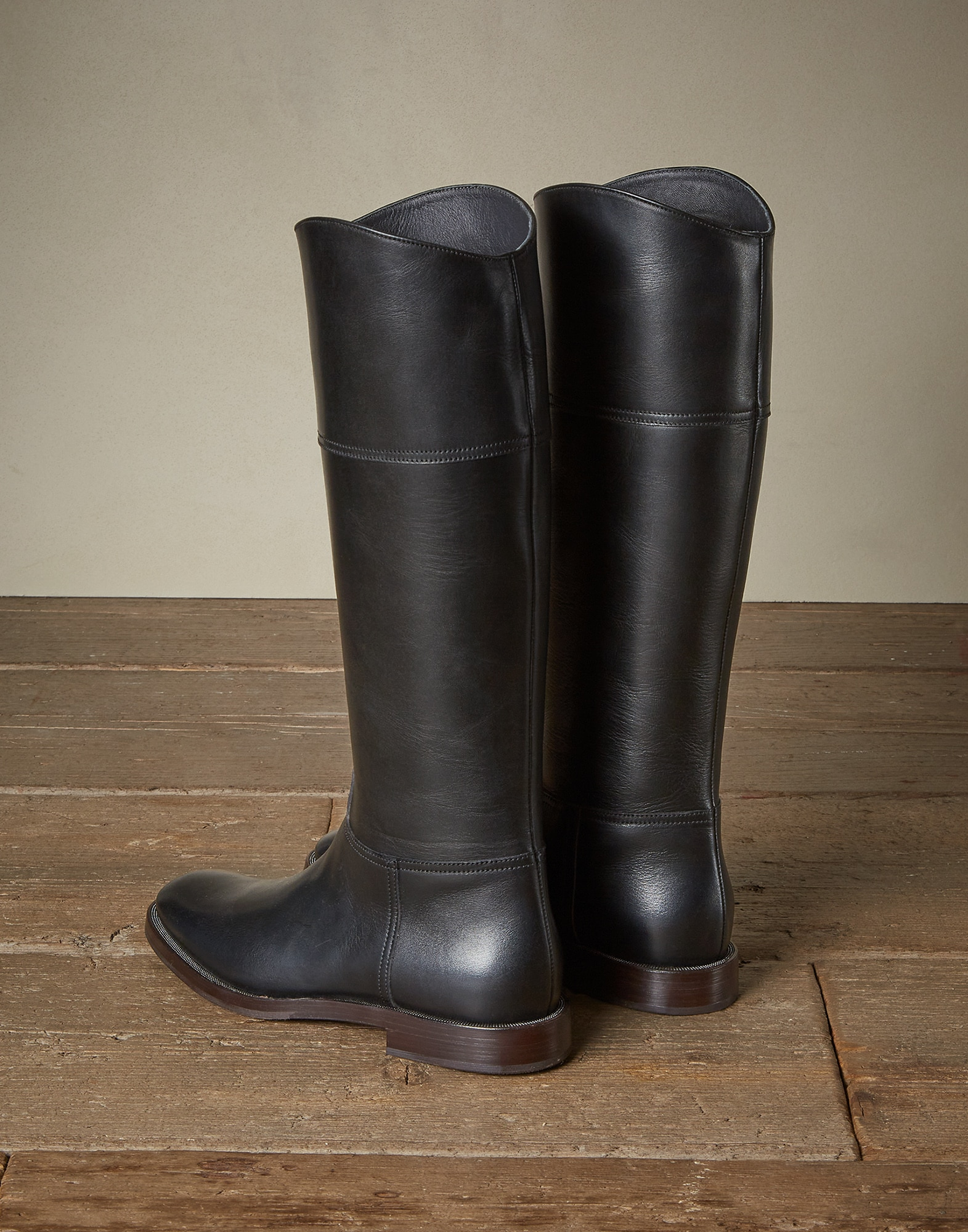 High-Boots Black Woman 1 - Brunello Cucinelli