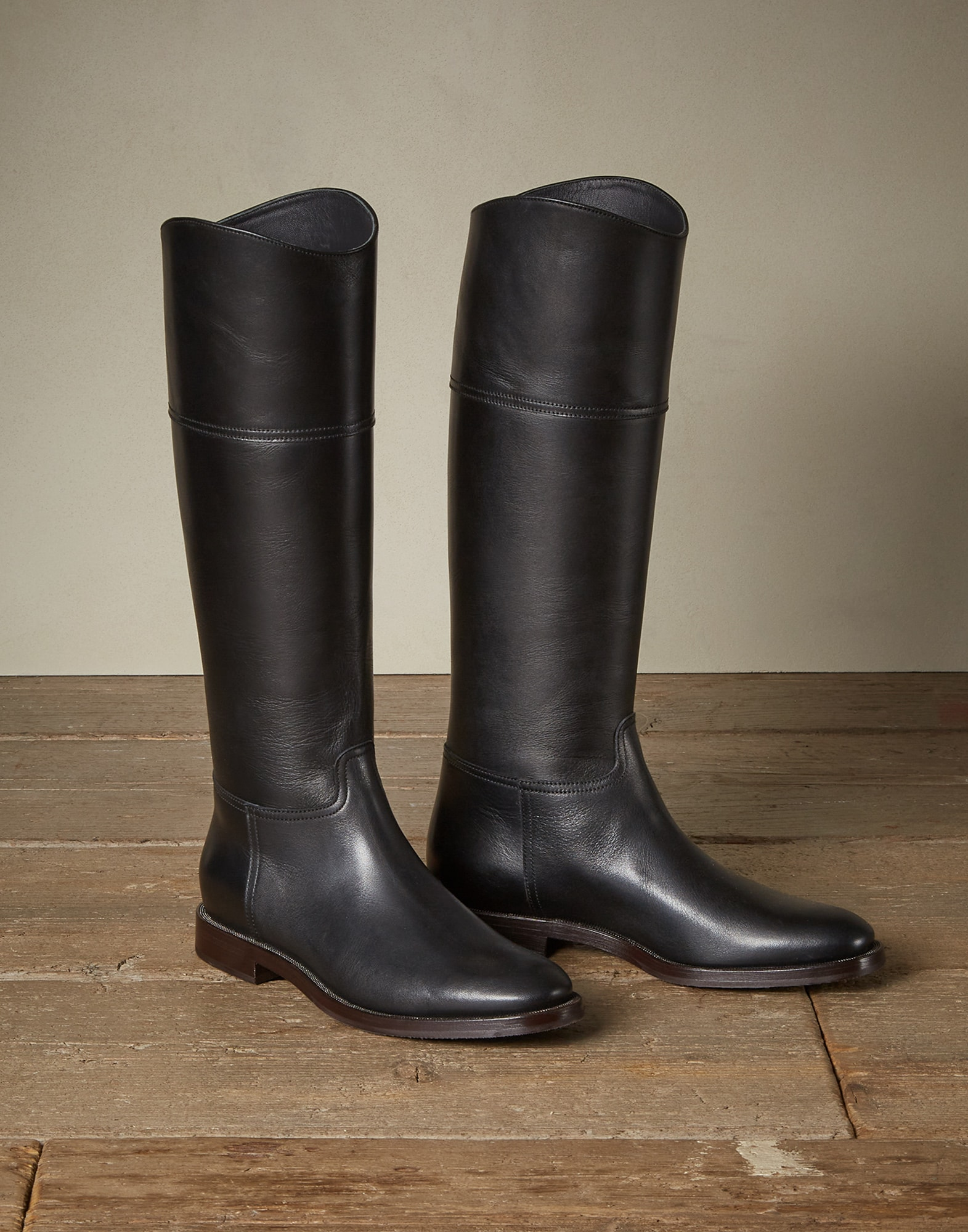 High-Boots Black Woman 0 - Brunello Cucinelli