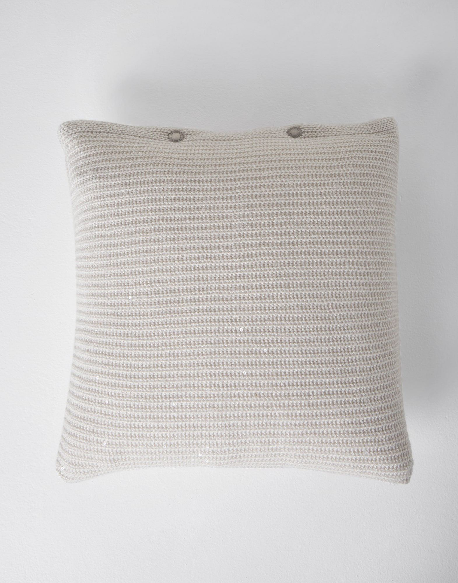 Knit Cushions Rice Lifestyle 2 - Brunello Cucinelli