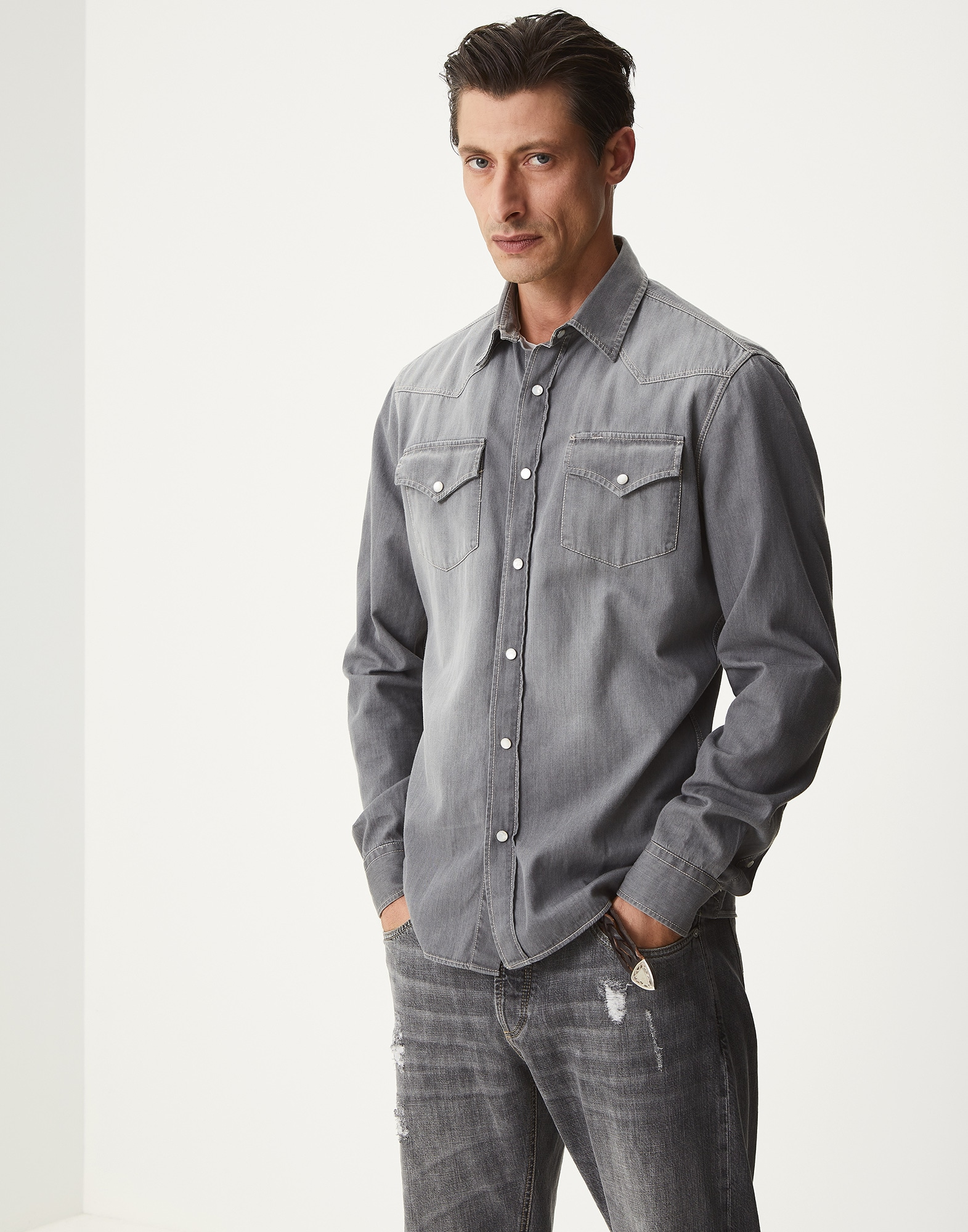Chemise Casual - Front