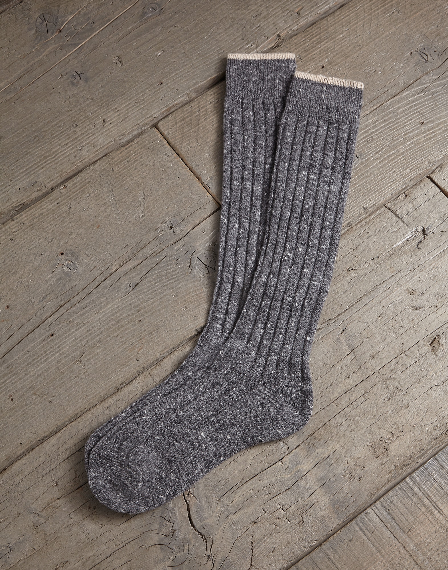 Socks Slate Man 0 - Brunello Cucinelli