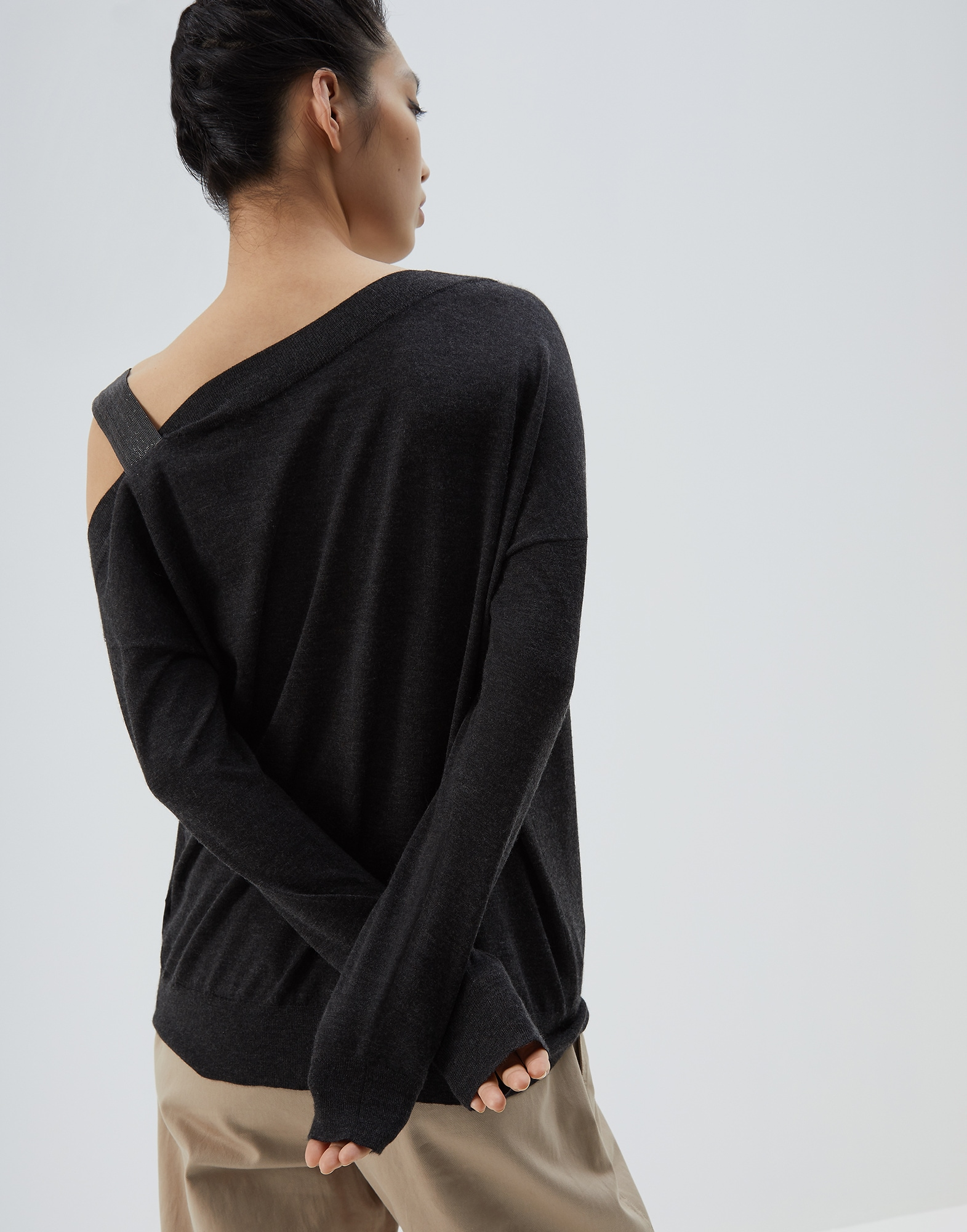 Scoop Neck - Back view