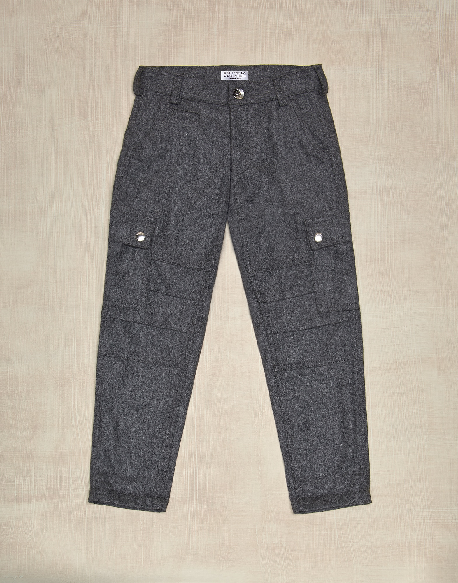 Trousers Medium Grey Boy 0 - Brunello Cucinelli