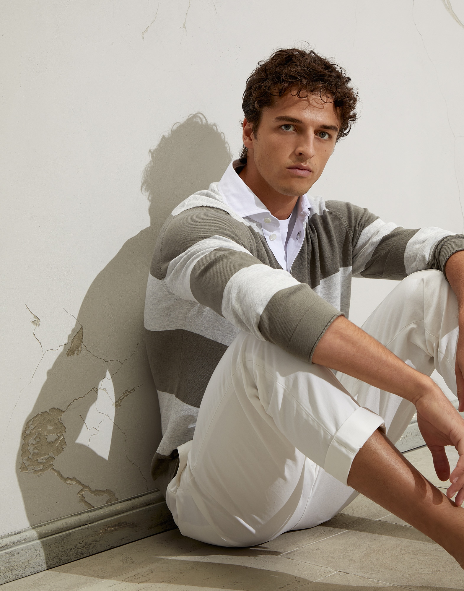 Polo-Style Sweater - Editorial view