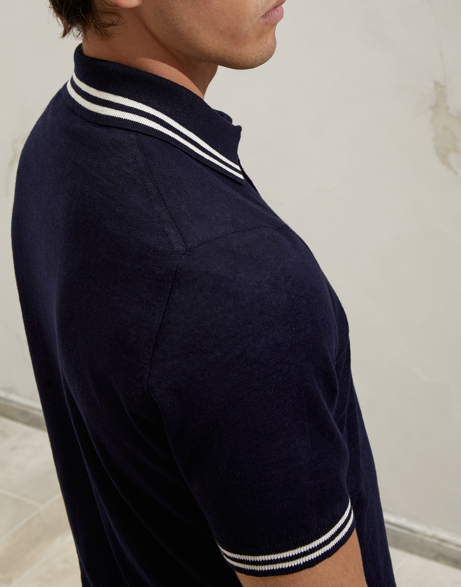 Polo-Style Sweater - Detail