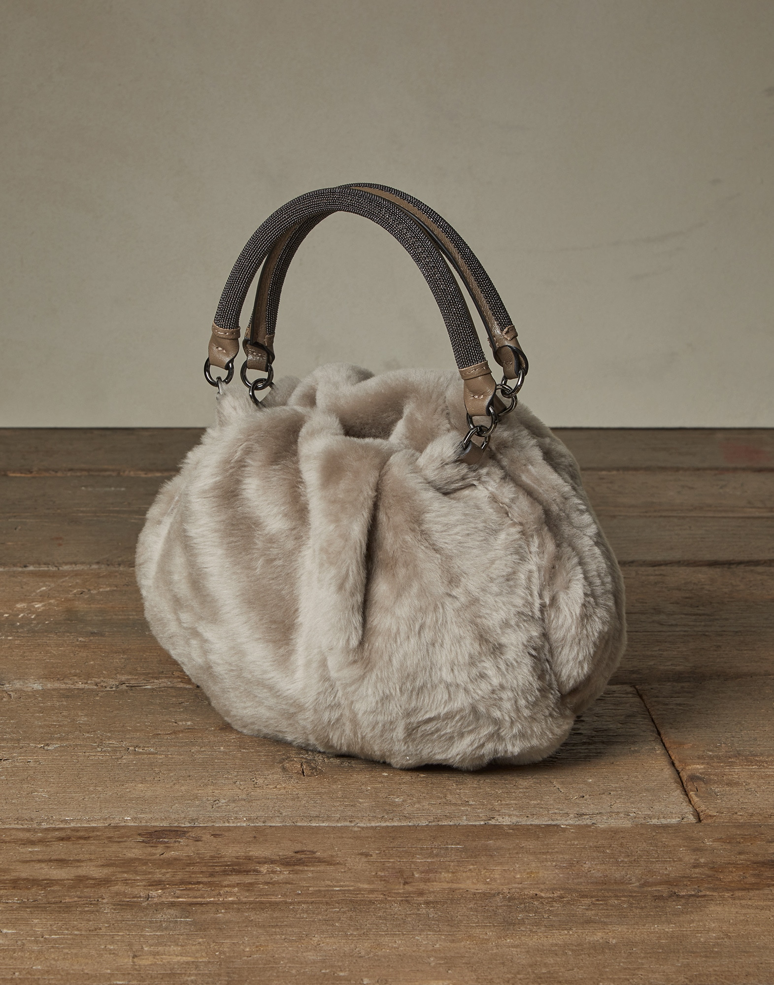 Shopper Bag Light Brown Woman 1 - Brunello Cucinelli