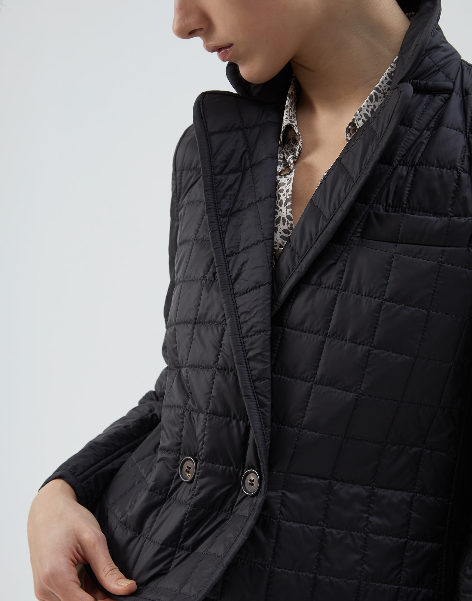 Down Jacket Black Woman 3 - Brunello Cucinelli