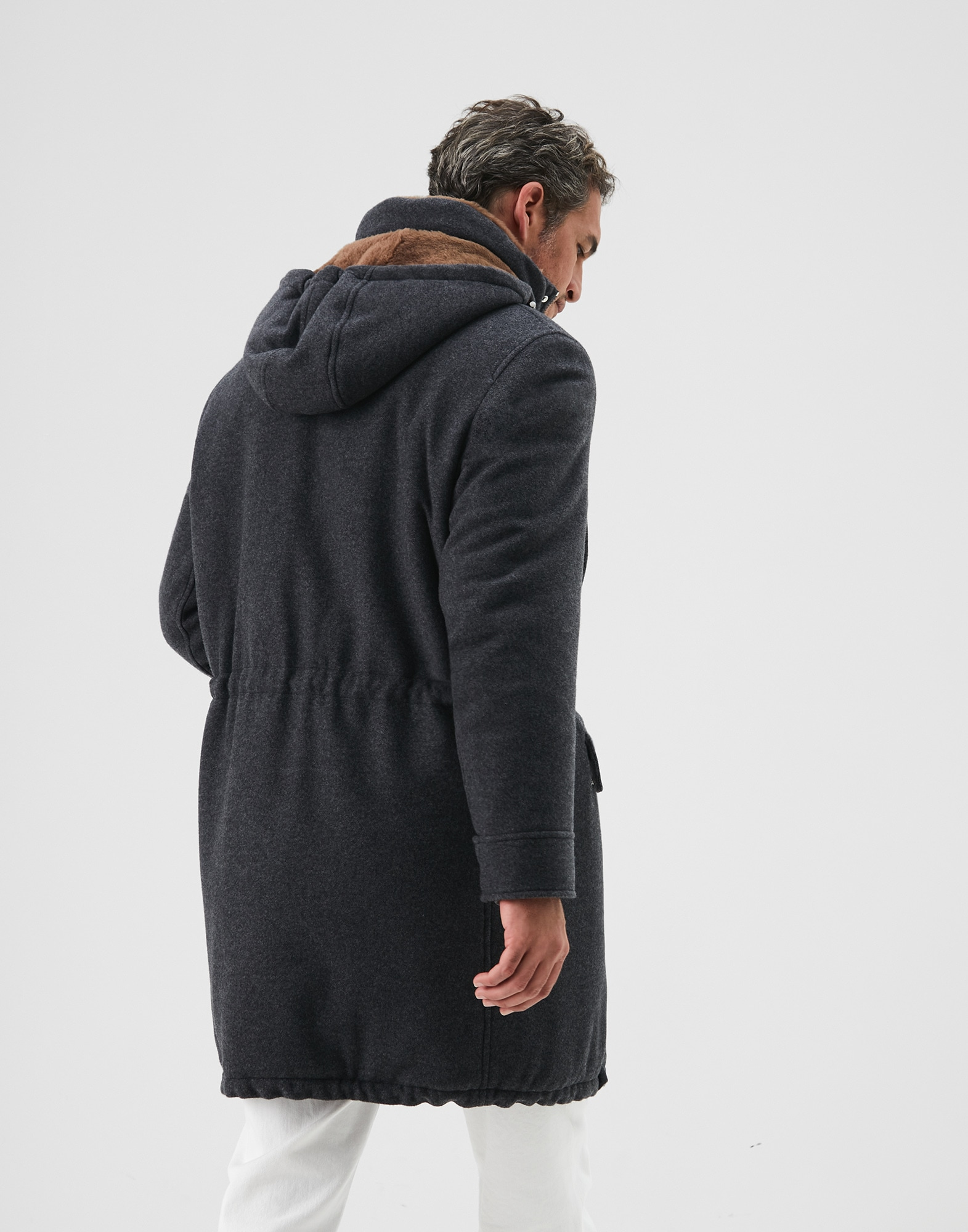 Parka Plomb Homme 2 - Brunello Cucinelli