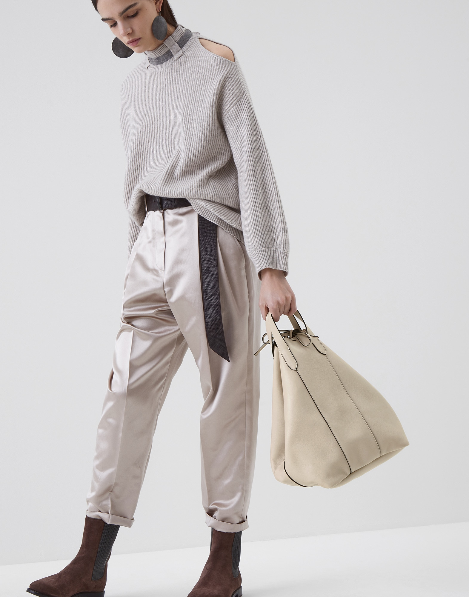 Shopper Bag Rice Woman 4 - Brunello Cucinelli