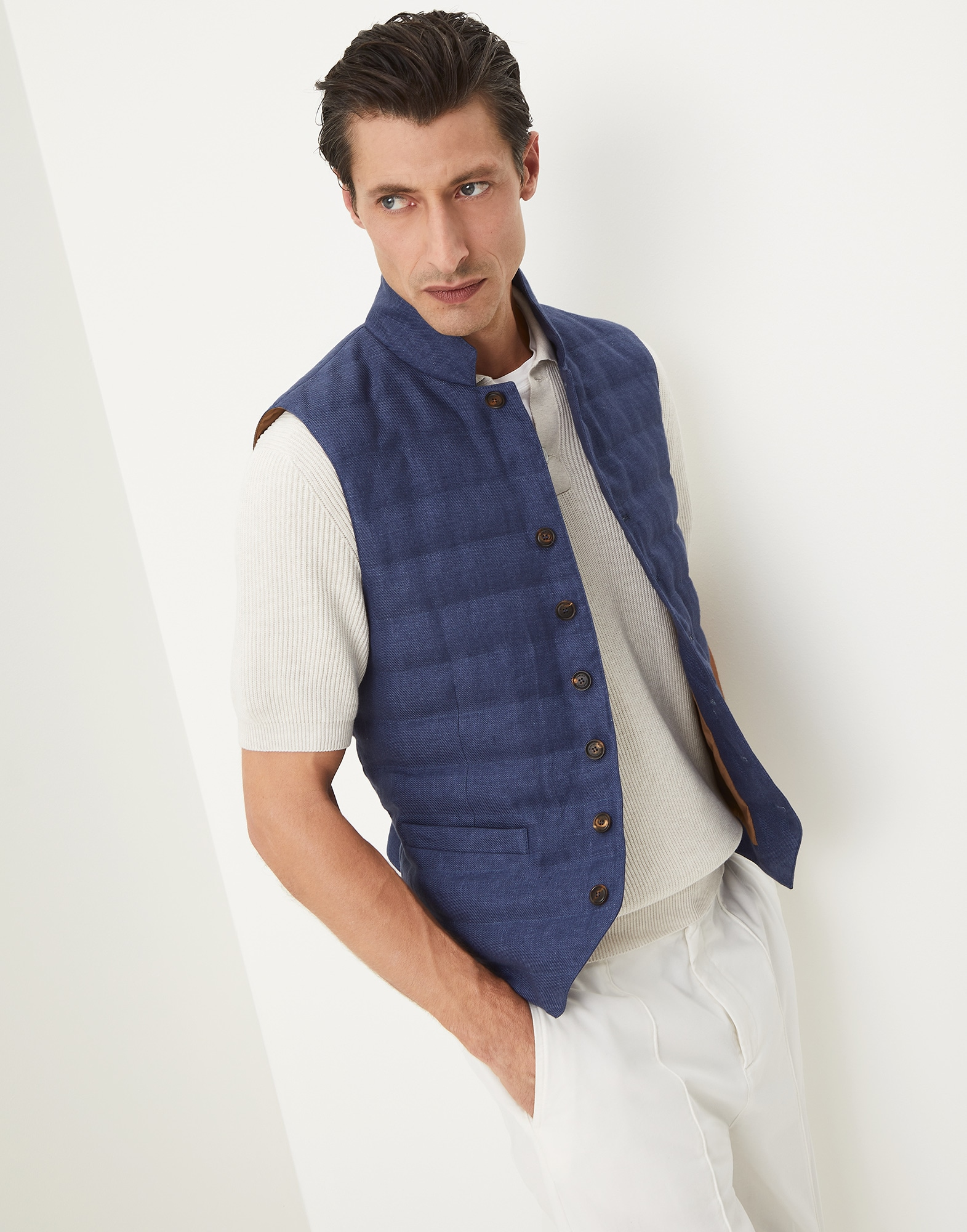 Down Vest - Editorial