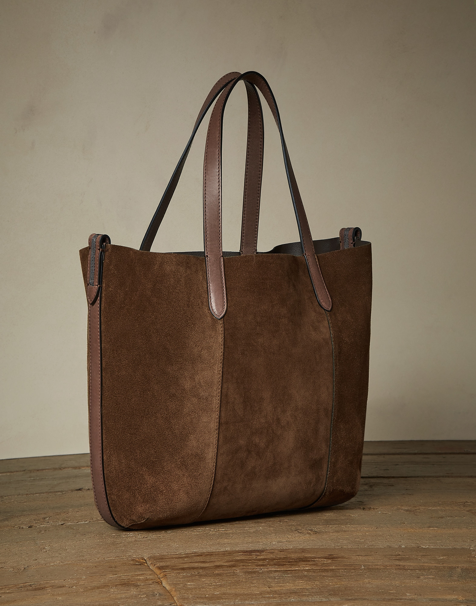 Shopper Bag Cigar Woman 1 - Brunello Cucinelli