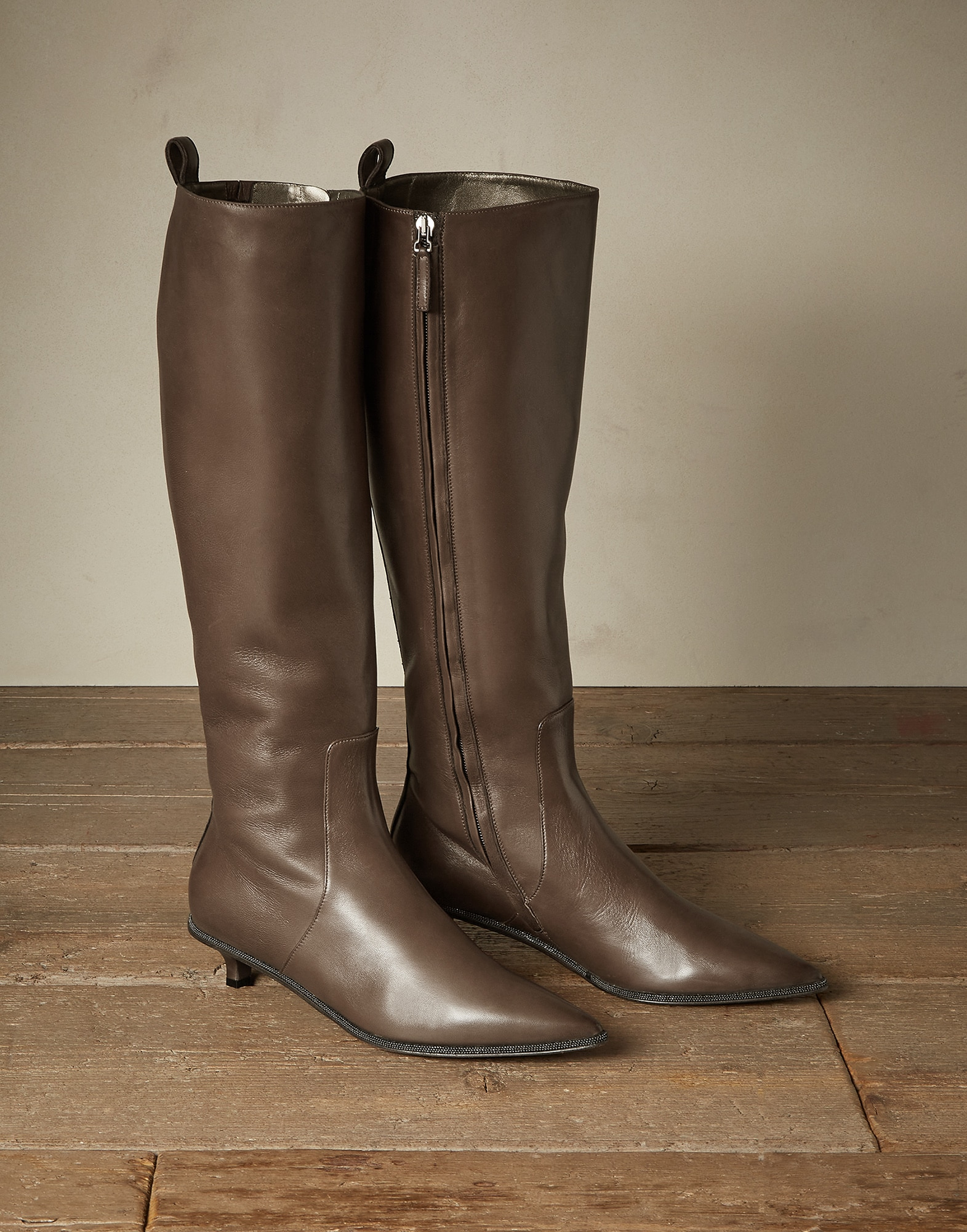 High-Boots Mud Woman 0 - Brunello Cucinelli