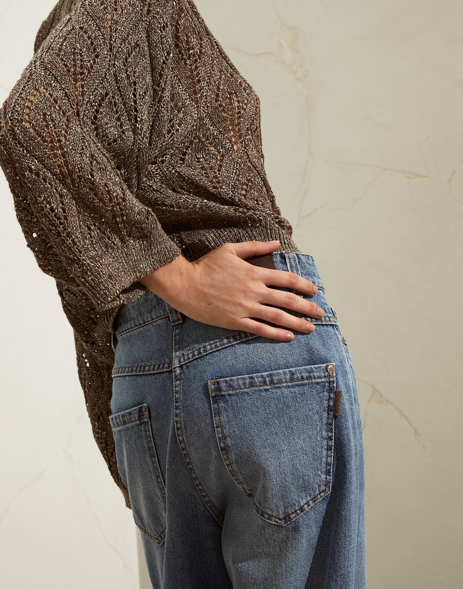 Denim Trousers - Detail