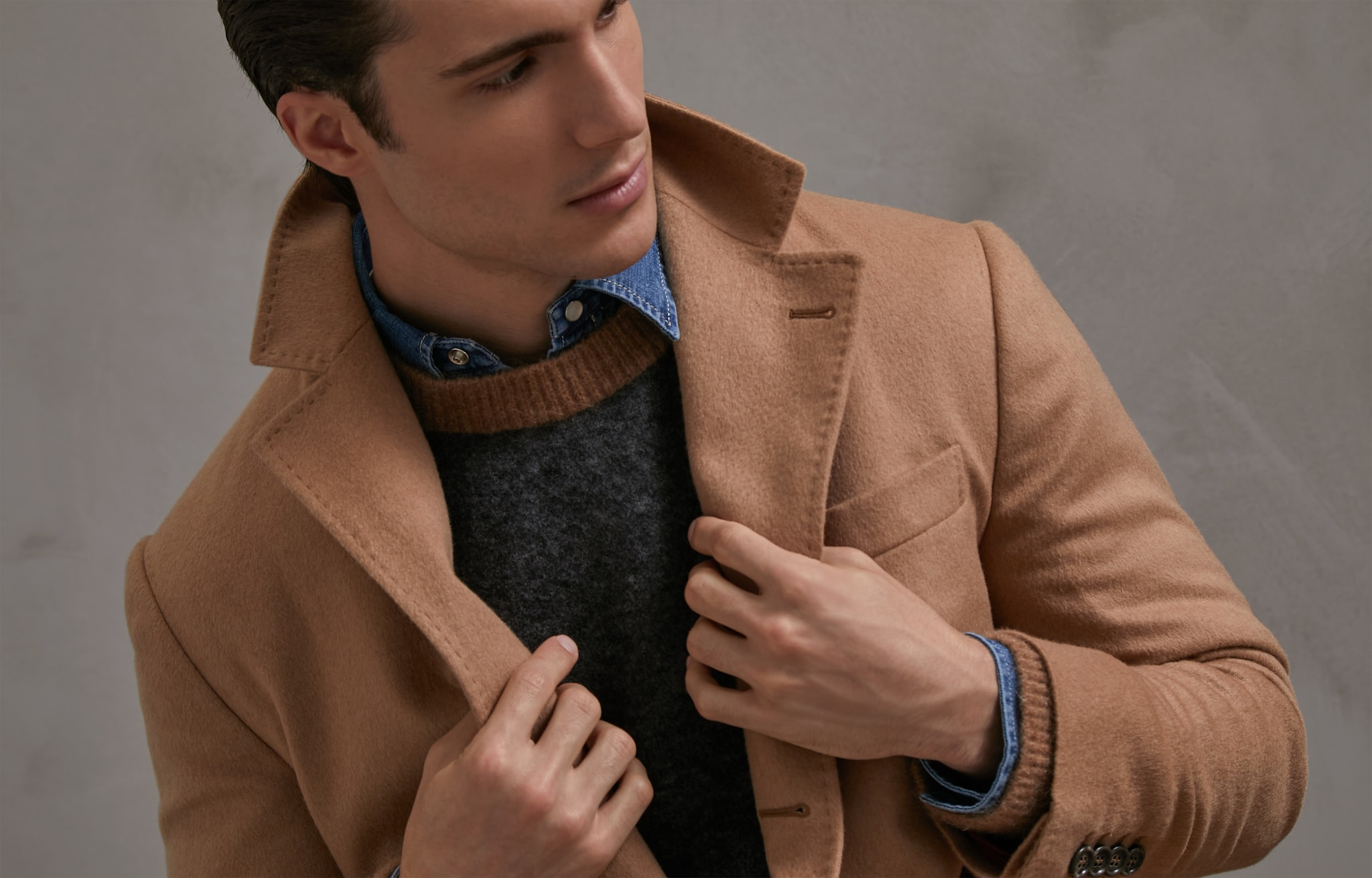 Coat Camel Man 5 - Brunello Cucinelli