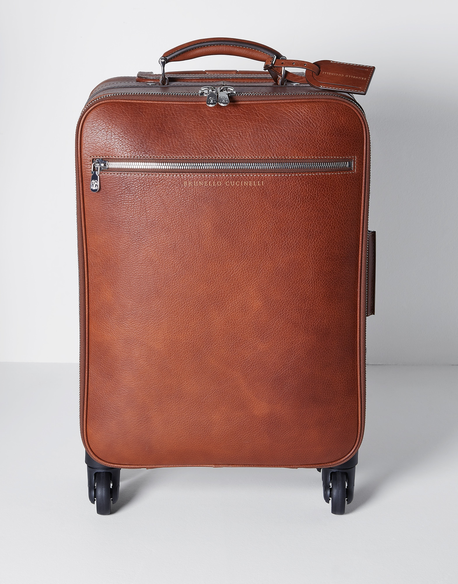 Wheeled Luggage Rum Man 1 - Brunello Cucinelli