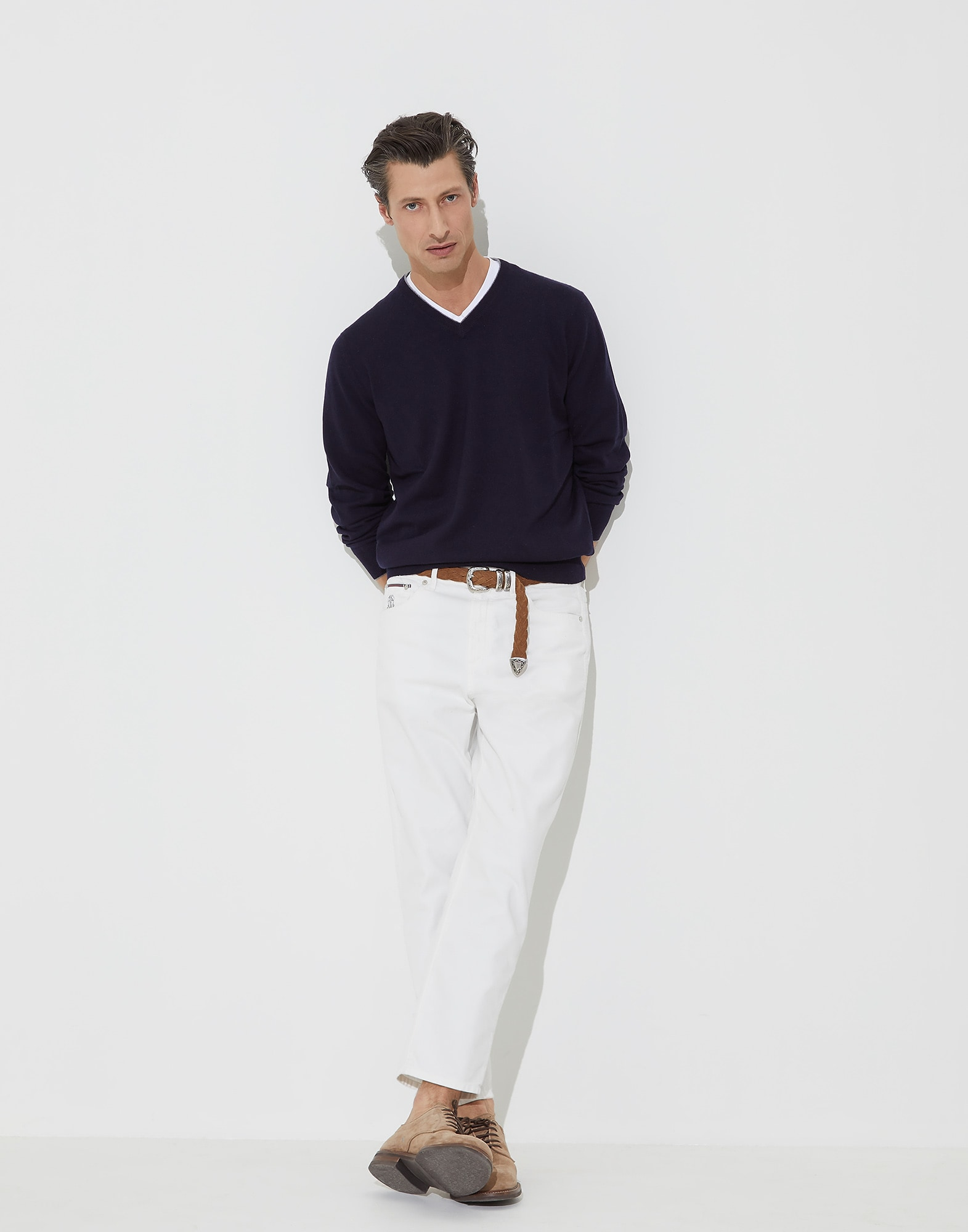 V-neck Sweater - Look