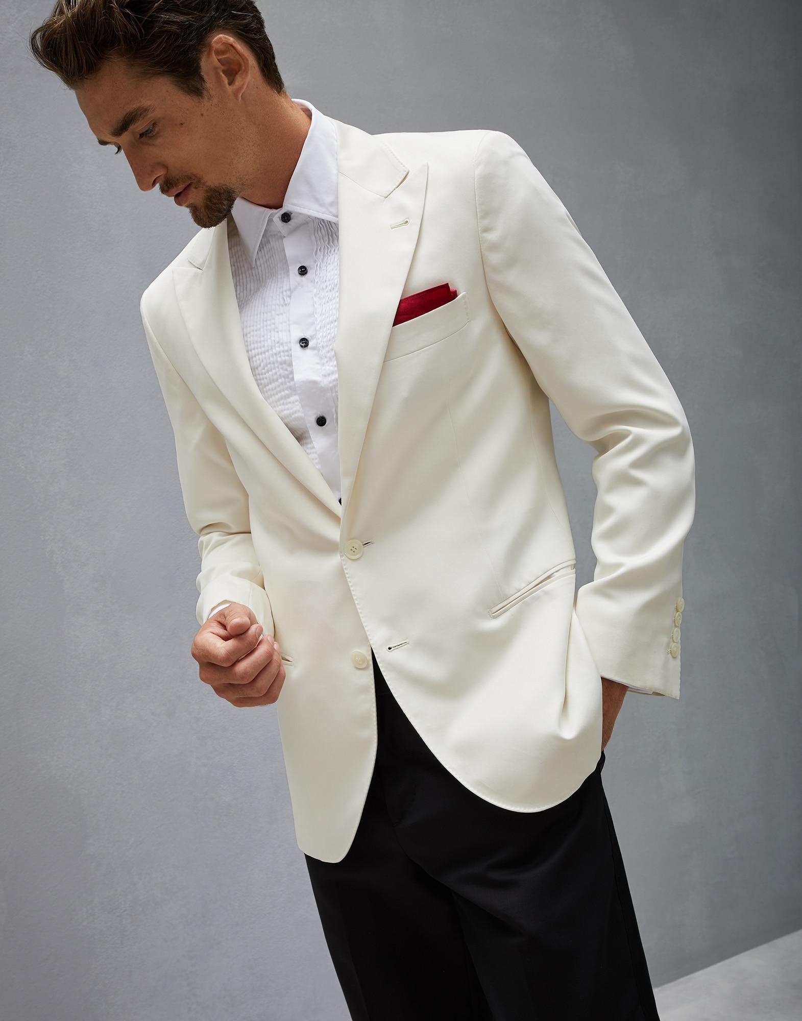 e92e871b15ff26 Tuxedo Jacket (182MD424GS06) - Man Men's Suits Brunello Cucinelli