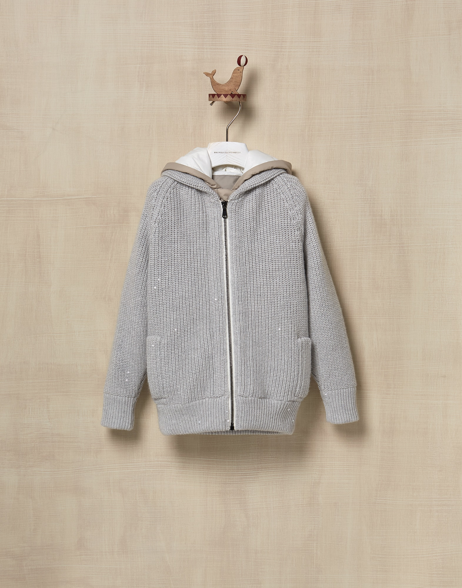 Outerwear Jacket Fog Girl 0 - Brunello Cucinelli