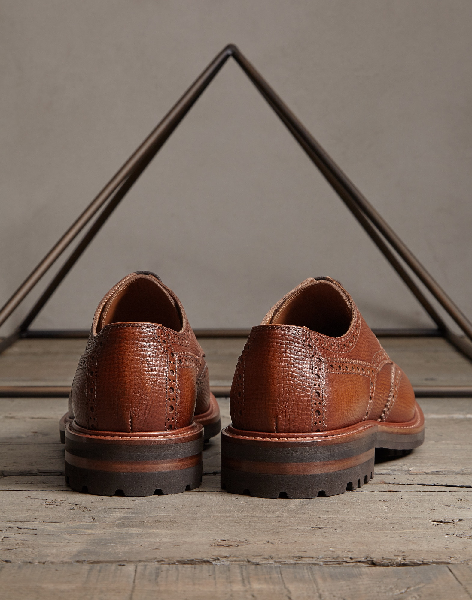 Lace-Ups Leather Man 1 - Brunello Cucinelli