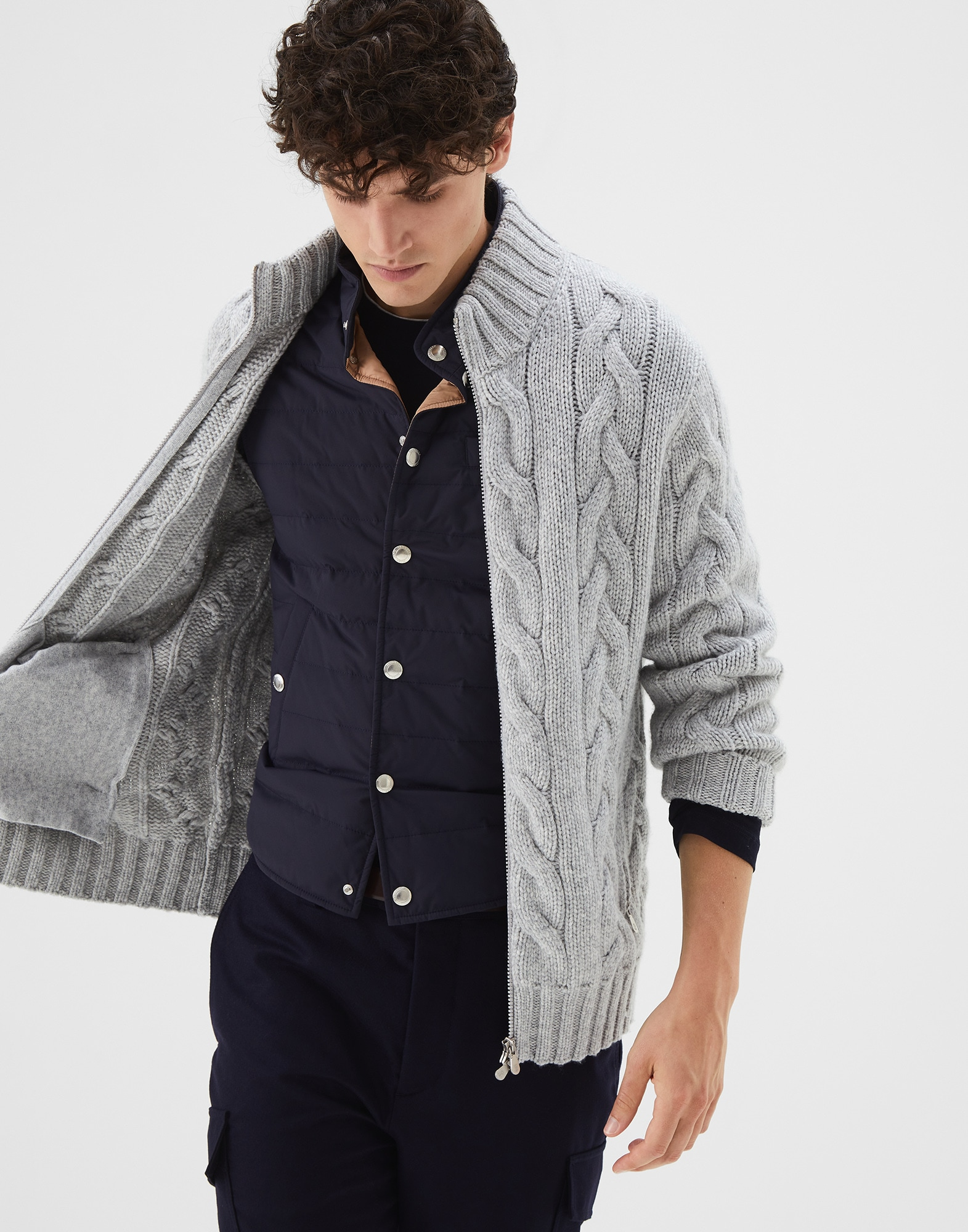 Cardigan Zippé - Editorial