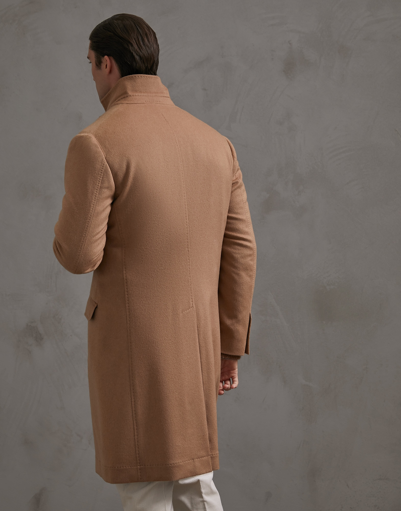 Coat Camel Man 2 - Brunello Cucinelli