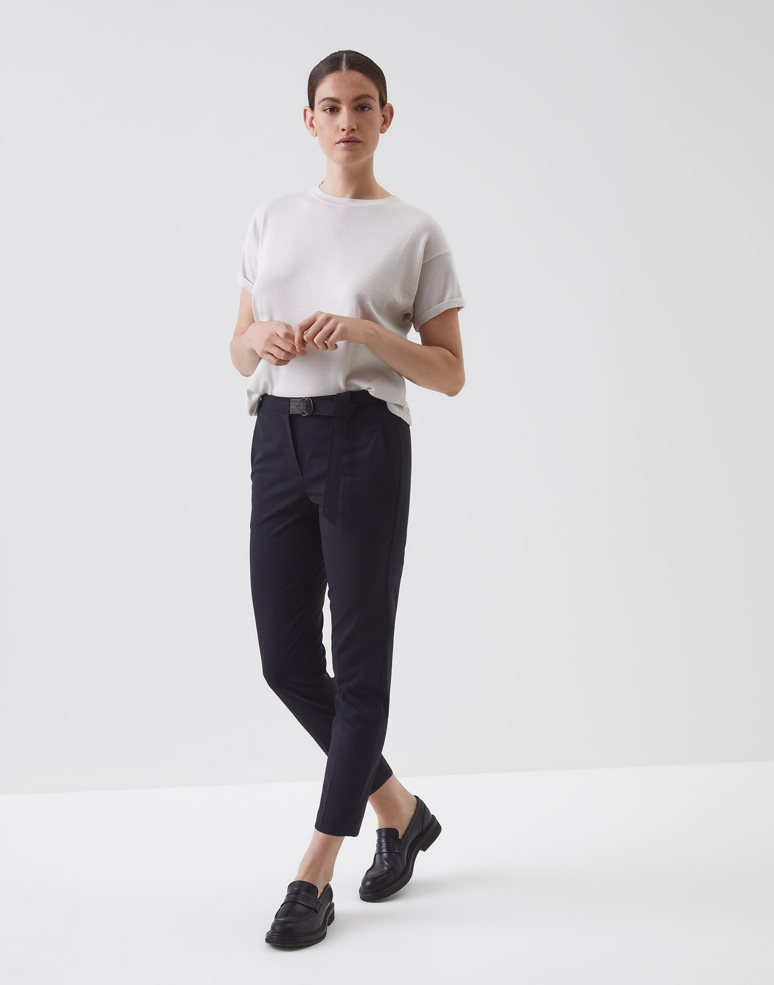 Trousers Lignite Woman 3 - Brunello Cucinelli