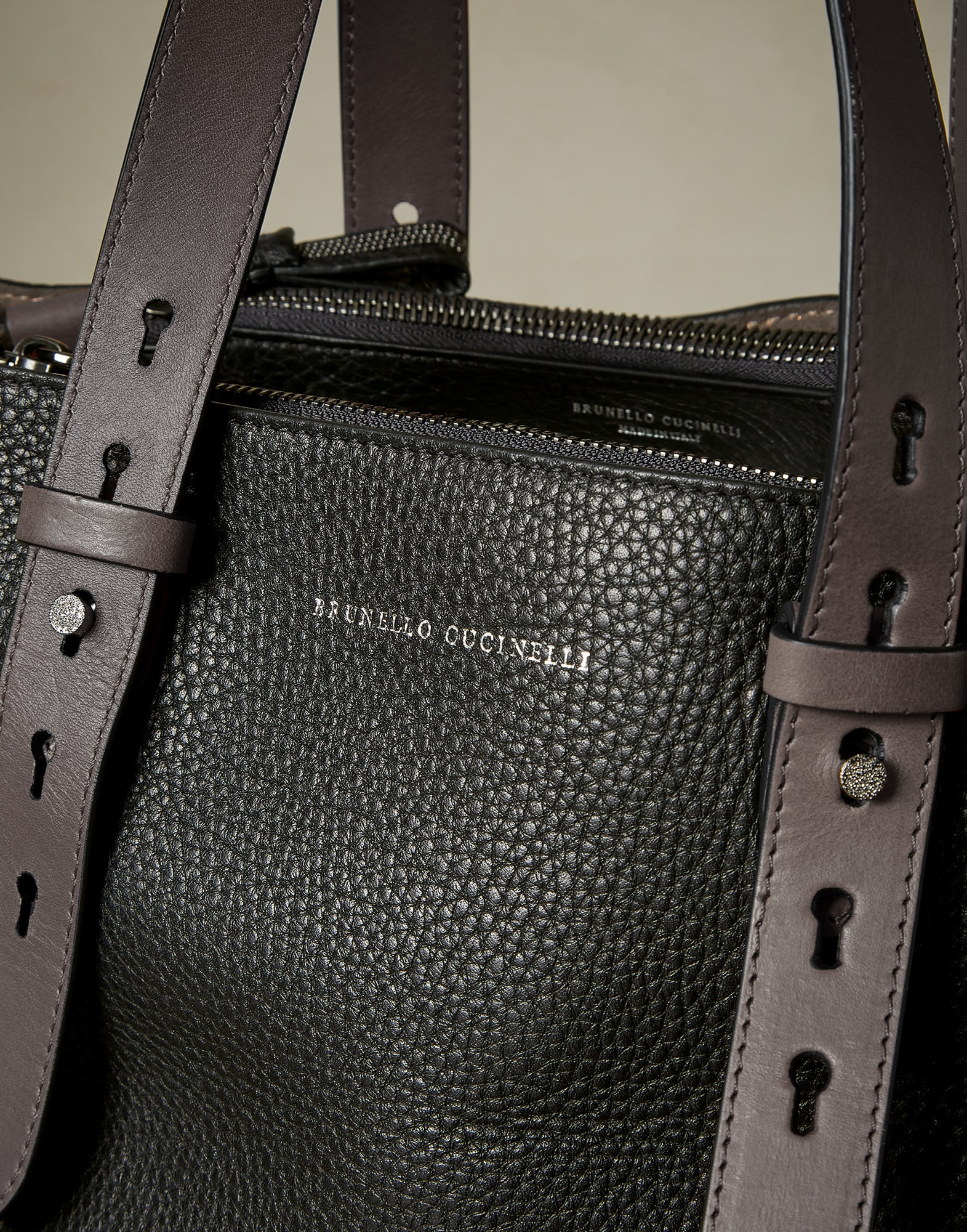 Shopper Bag Black Woman 2 - Brunello Cucinelli
