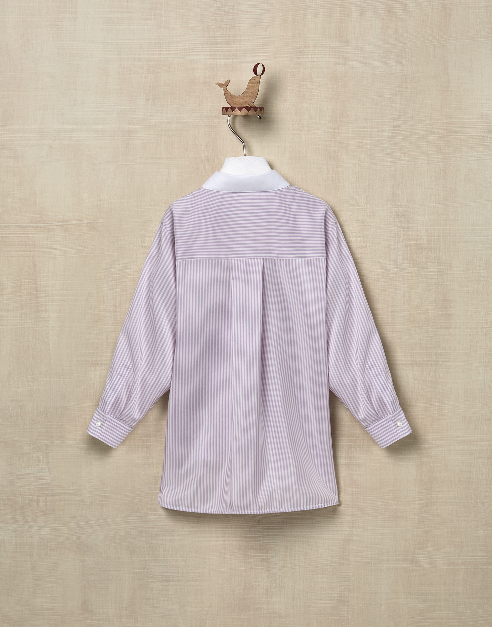 Shirt Lilac Girl 2 - Brunello Cucinelli