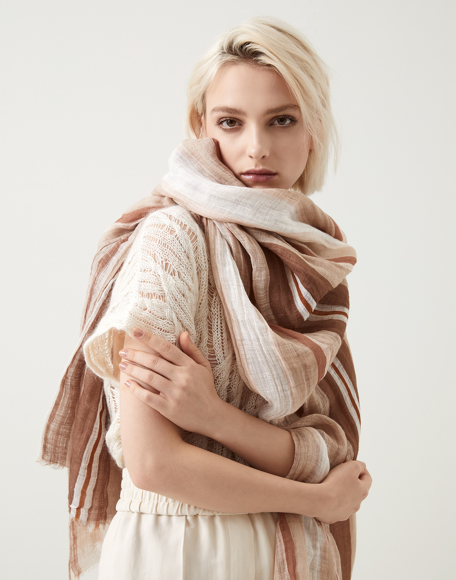Patterned Scarf - Editorial