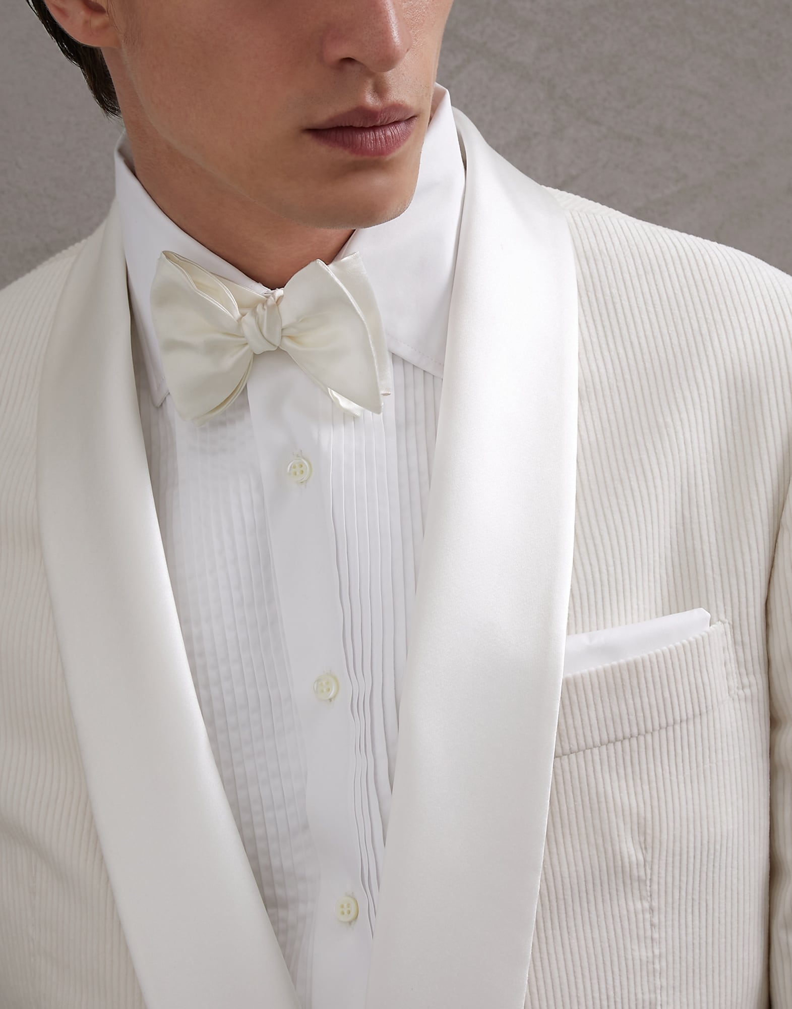 Evening Wear Accessories Off-White Man 2 - Brunello Cucinelli