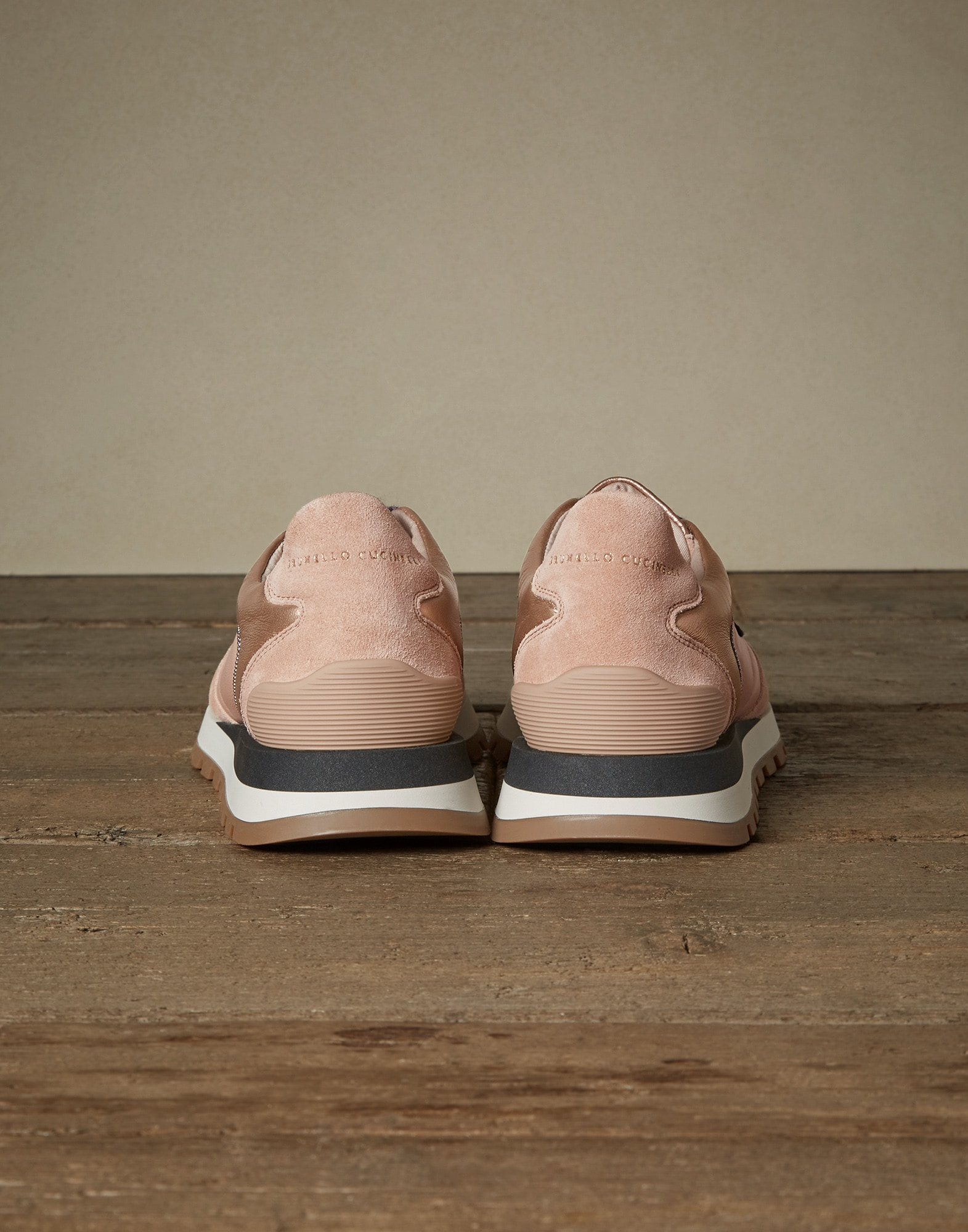 Sneakers Rose Gold Woman 2 - Brunello Cucinelli